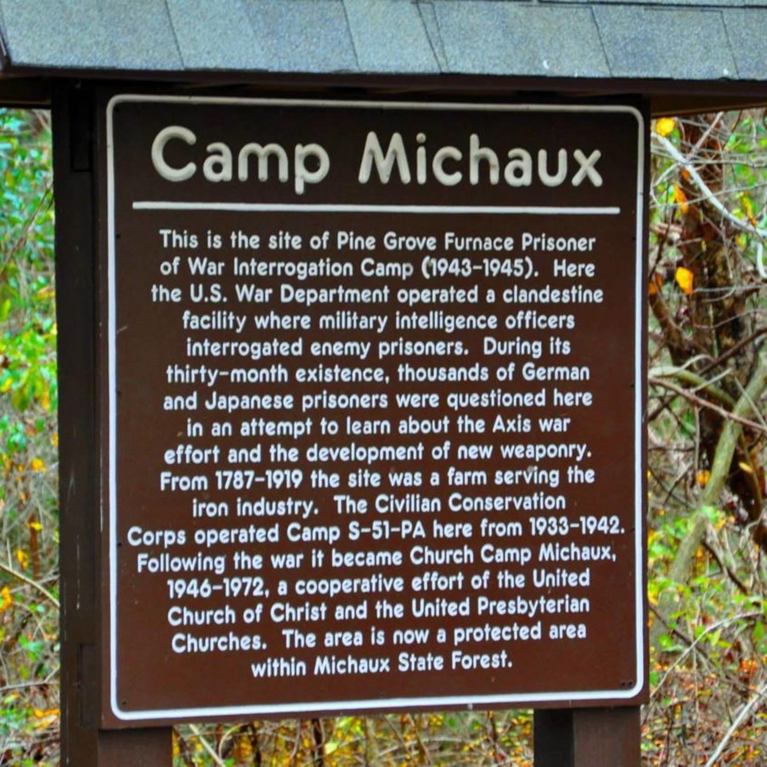 Camp Michaux Walking Tour