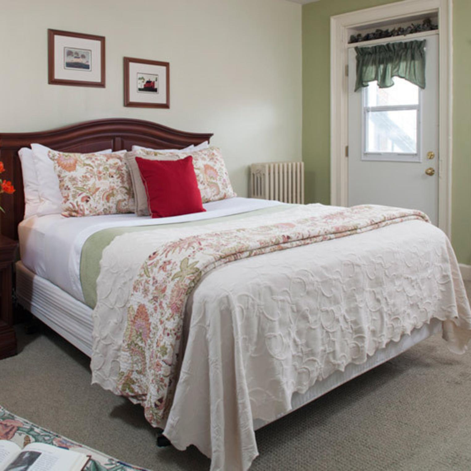 Queen-sized Bed in the Blair Room