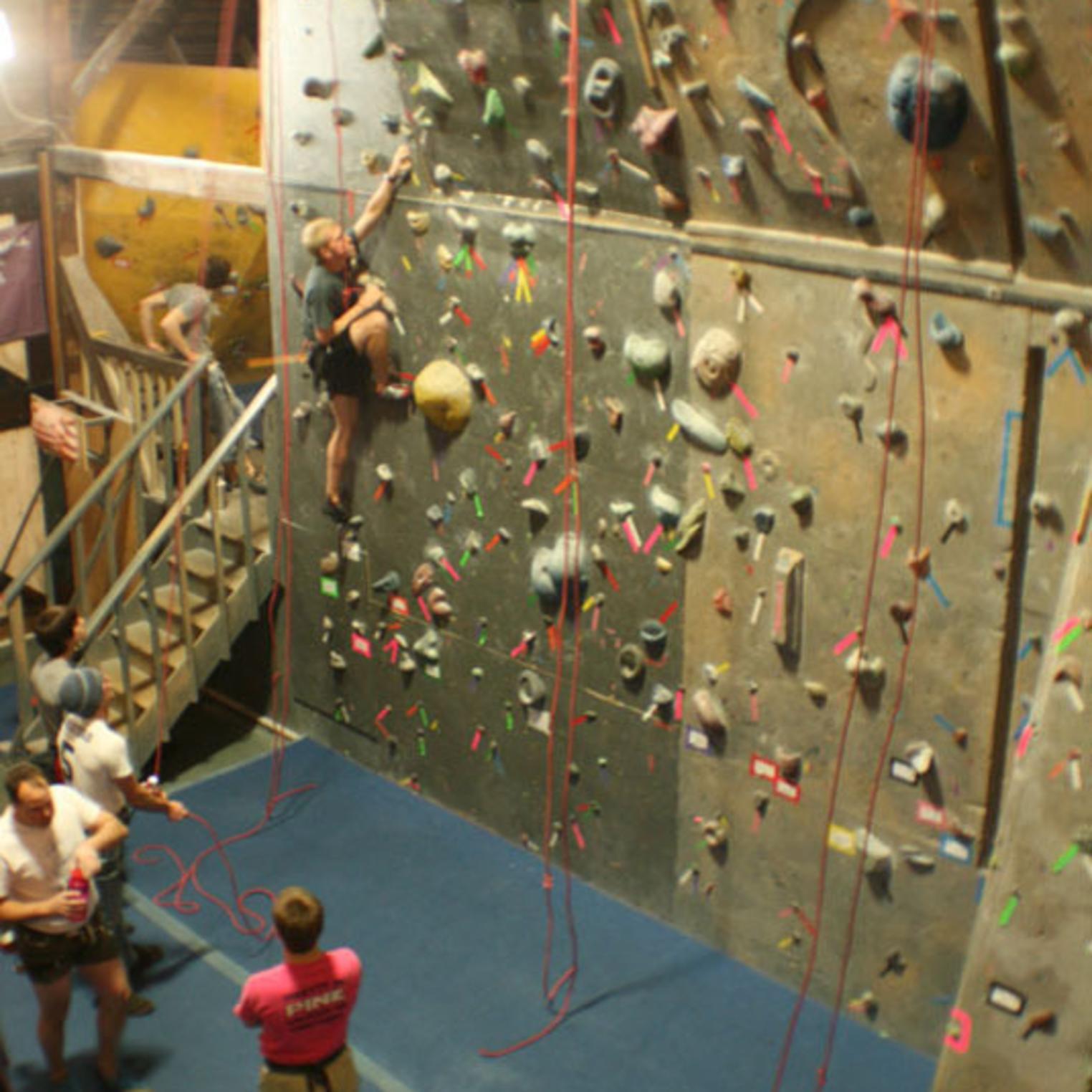 Climbnasium Indoor Wall