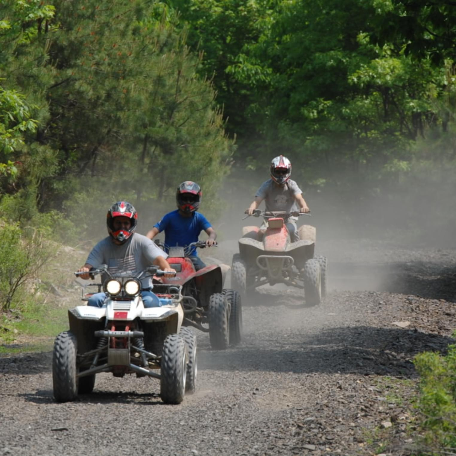 ATV Trails in Michaux State Forest