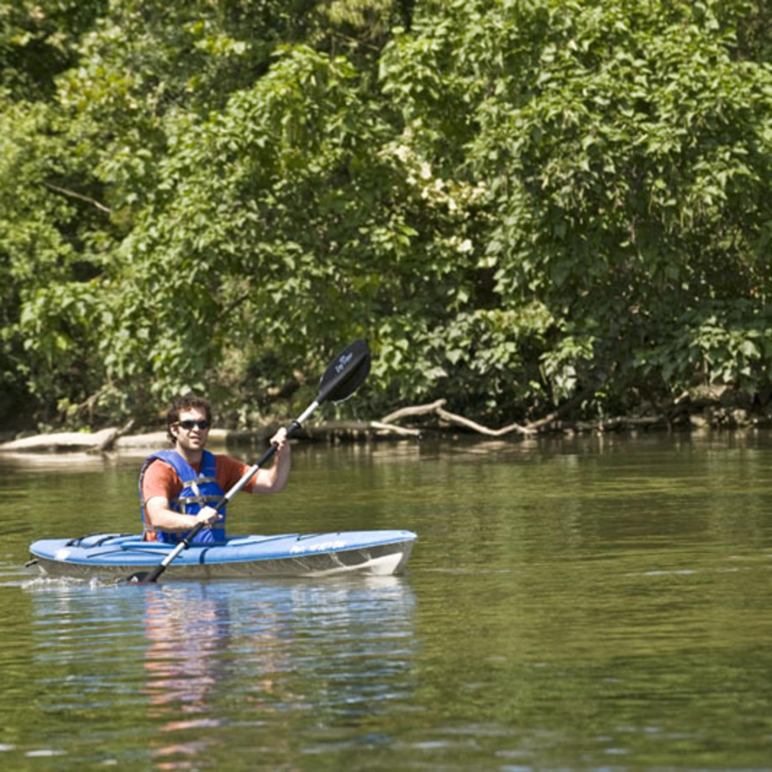 Kayaking on the Conodoguinet Creek