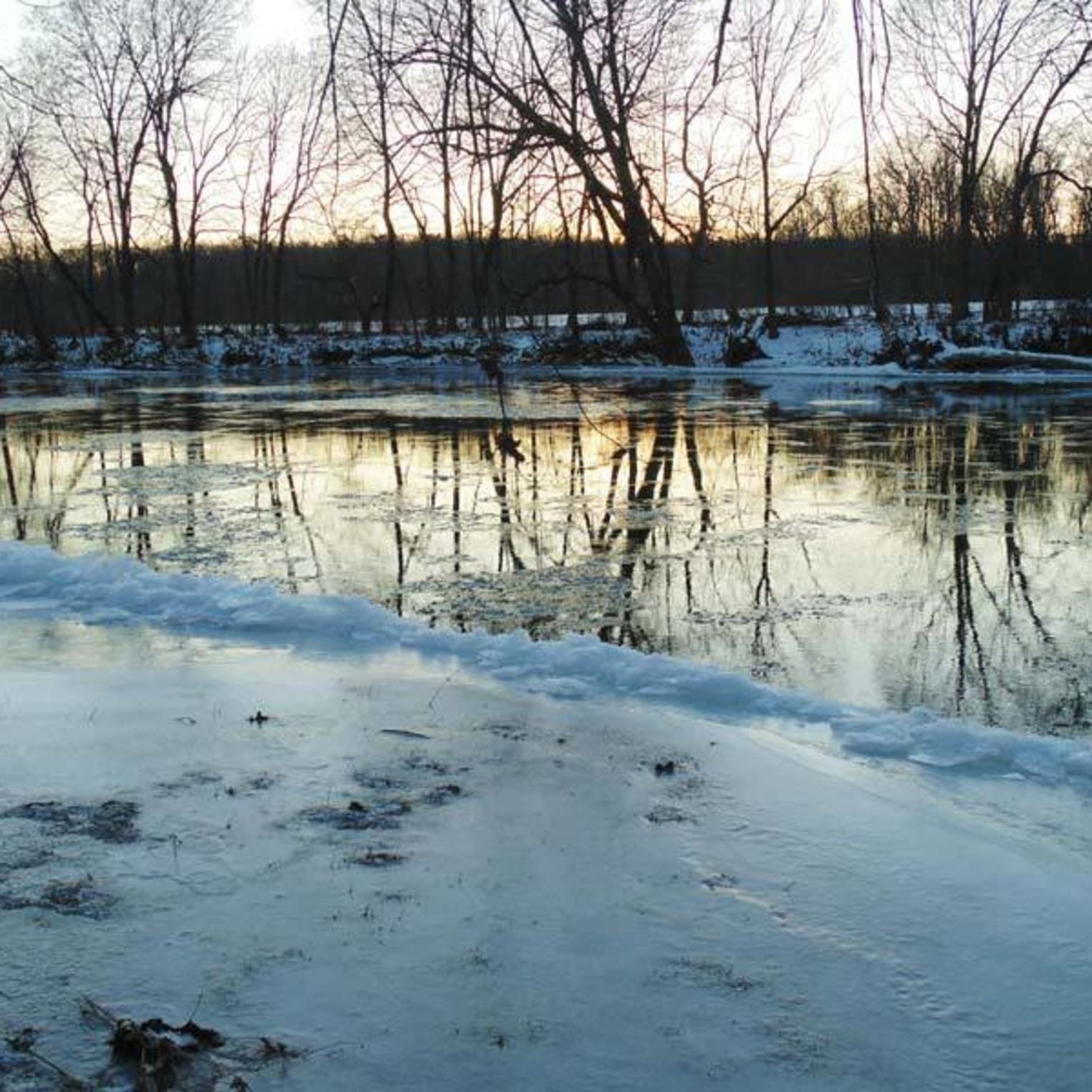 Conodoguinet Creek in Winter
