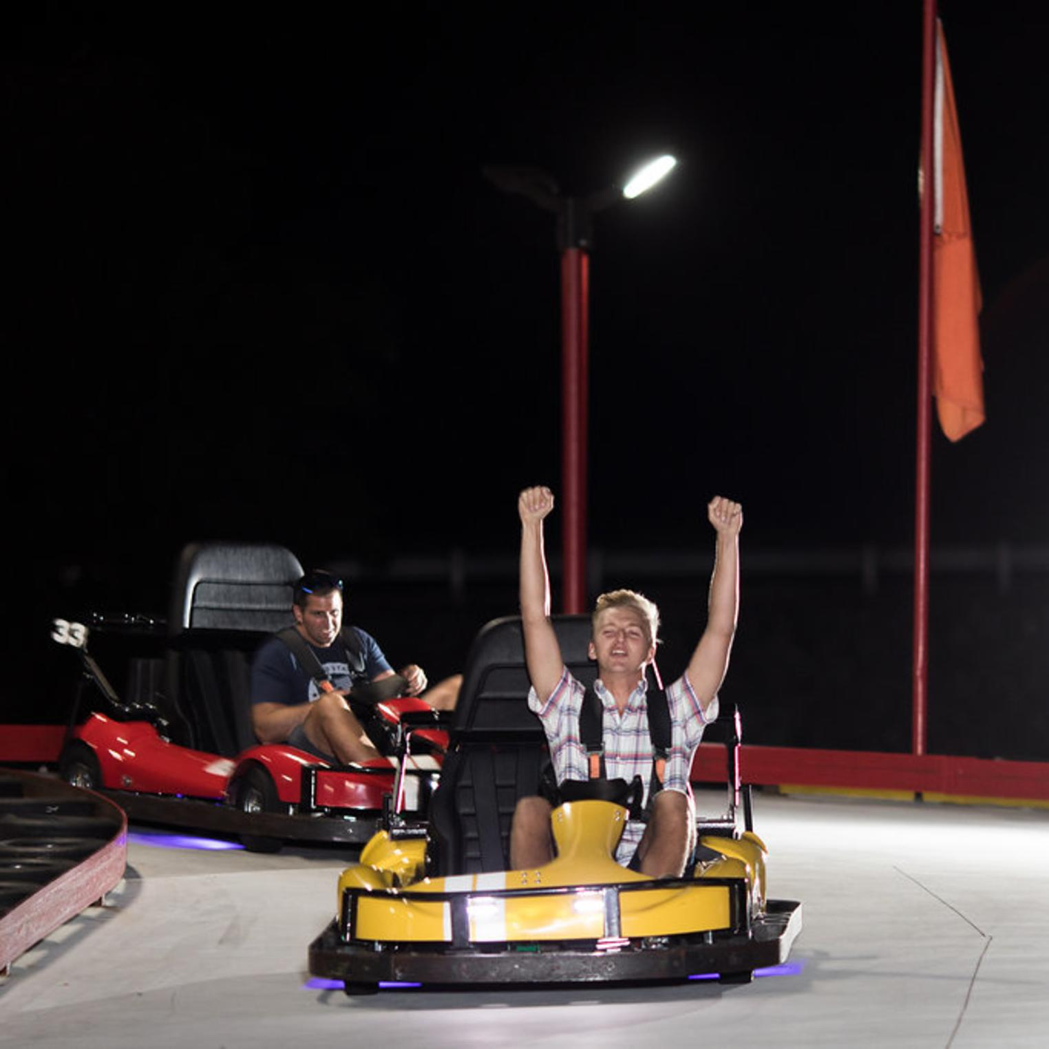 Outdoor Grand Prix Go-karts
