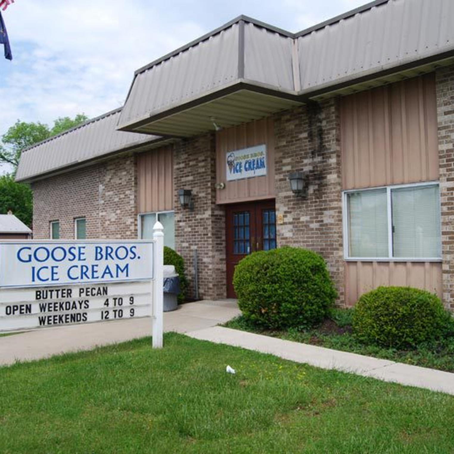 Goose Brothers Ice Cream