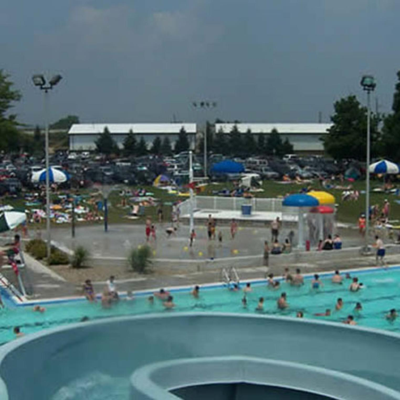 Hampden Township Pool Overview Photo
