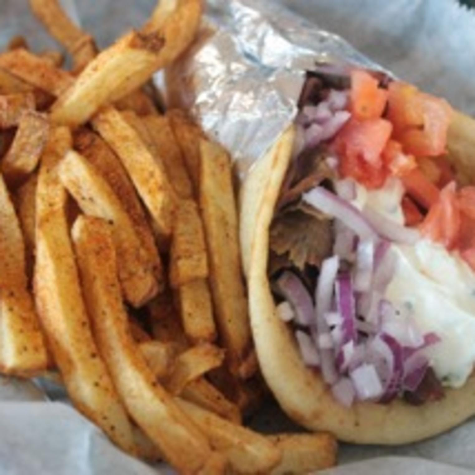 Hellenic Kouzina Gyro and Fries