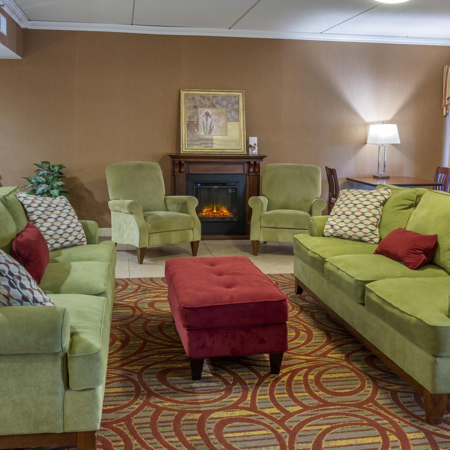 Holiday Inn Express Harrisburg SW Mechanicsburg Lobby