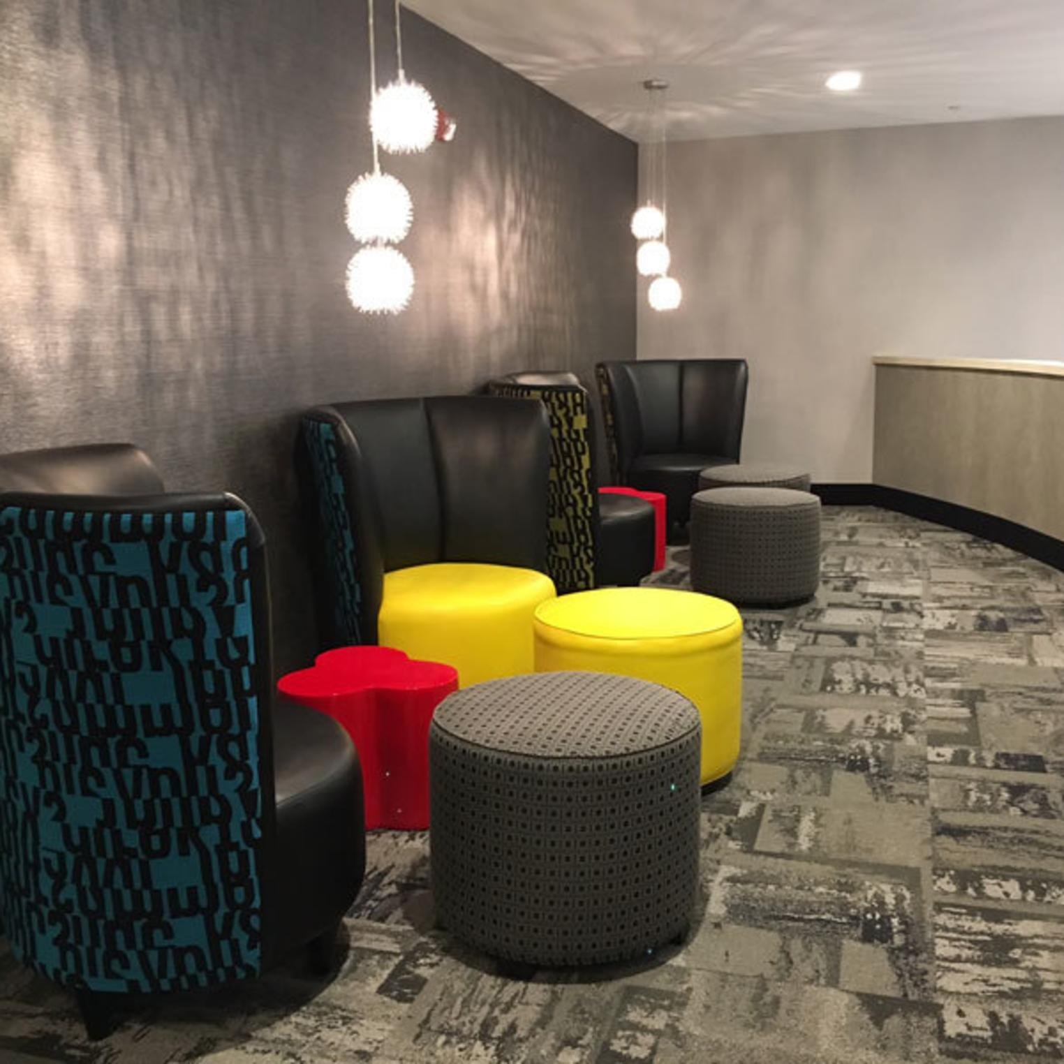 Holiday Inn Express & Suites Shippensburg 2nd Floor Sitting Area