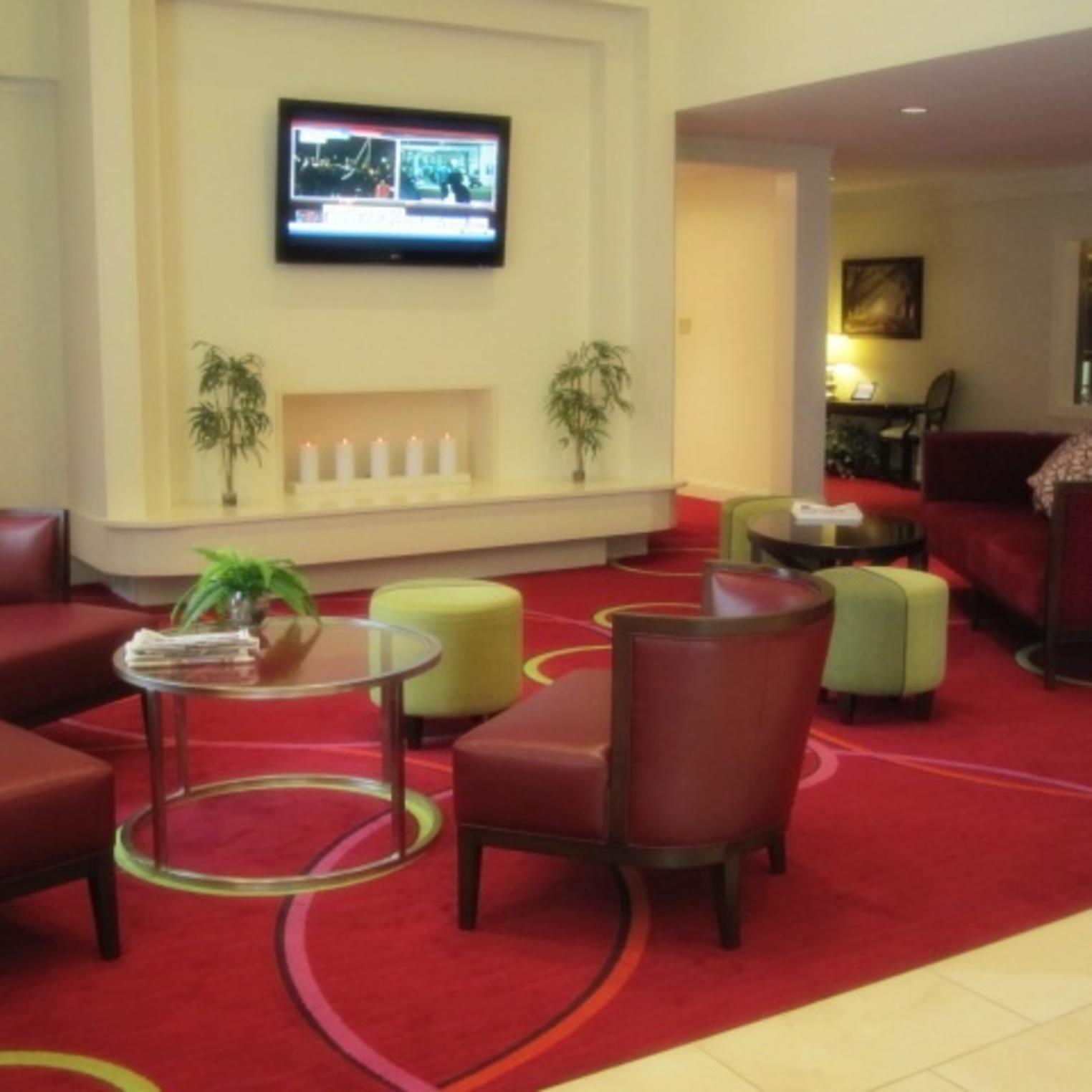 Radisson Hotel Lobby