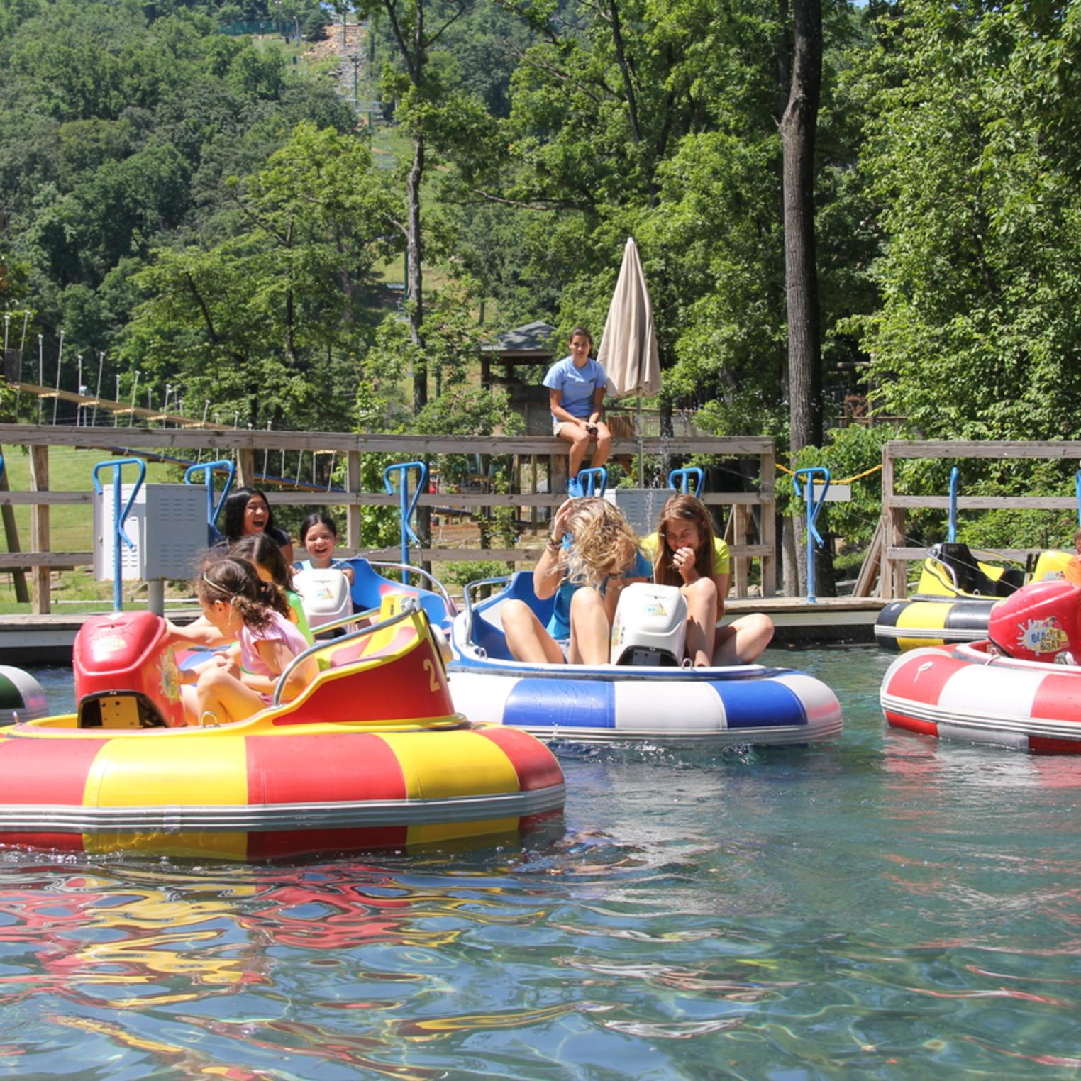 Bumper Boats (incl with Mountain Adventures admission)