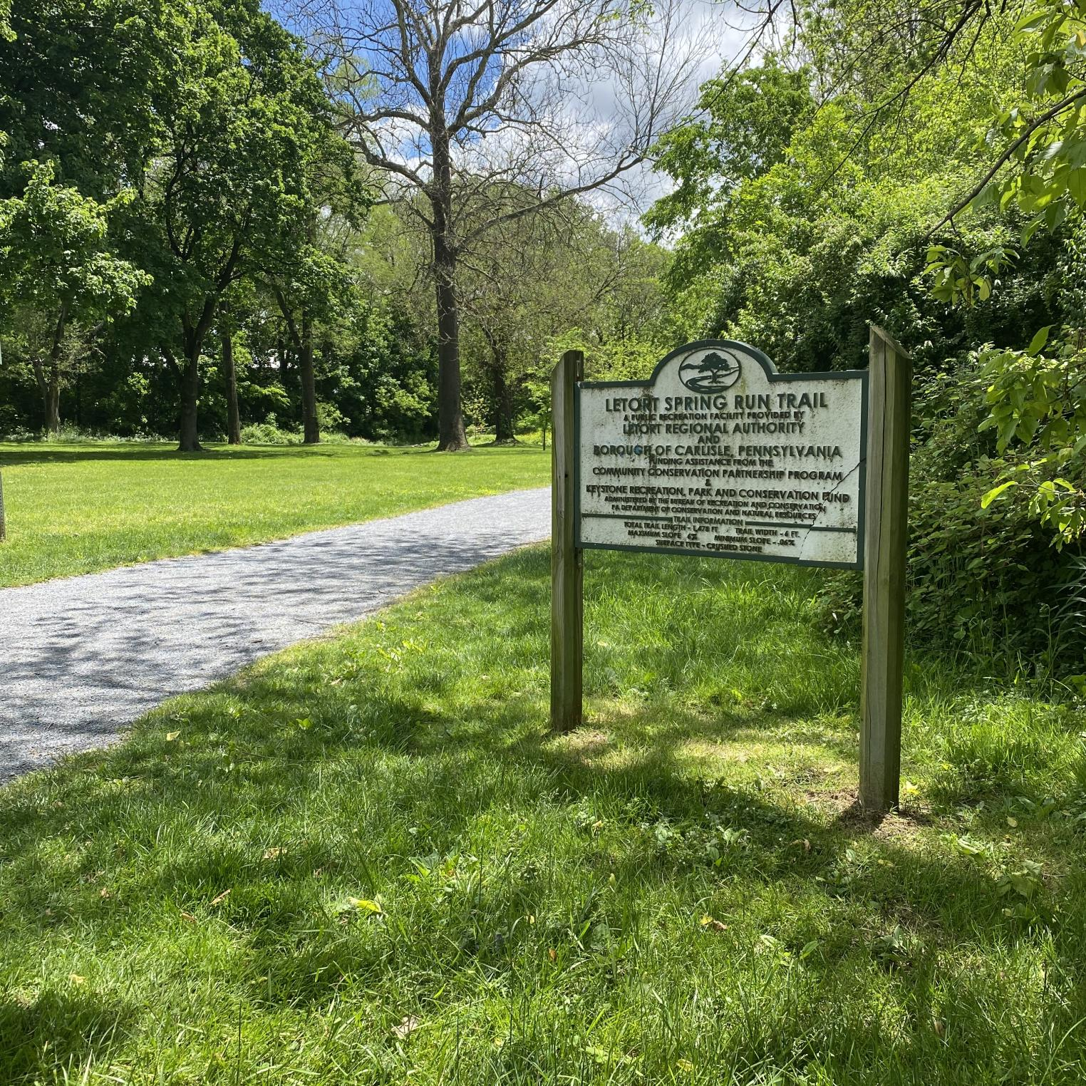 LeTort Spring Run & Nature Trail