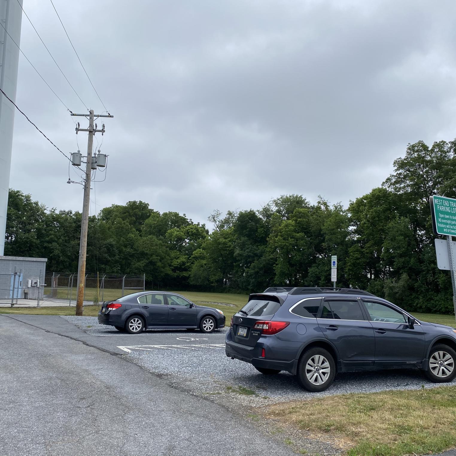 West End Trail Parking Lot
