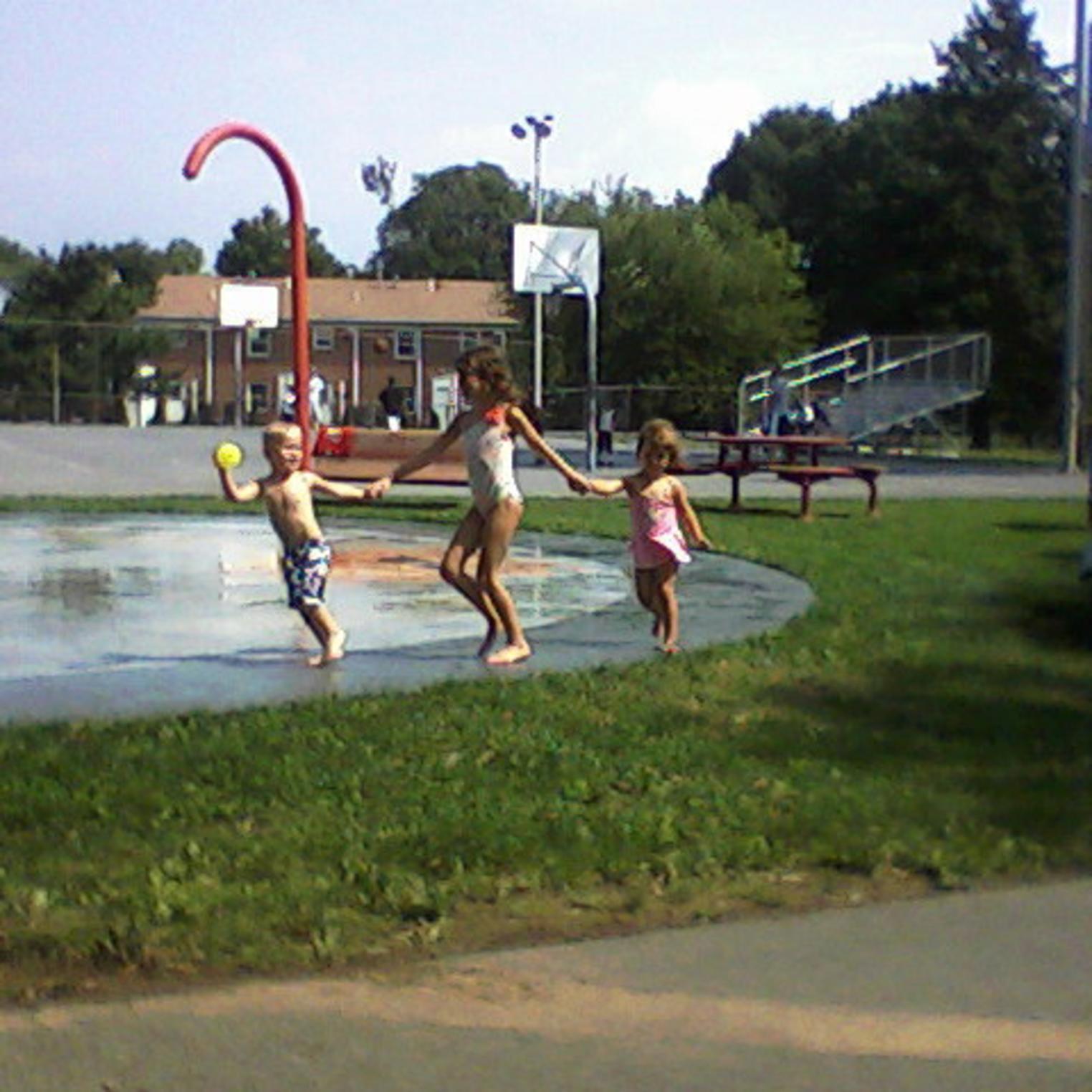Splash Zone at Memorial Park Carlisle