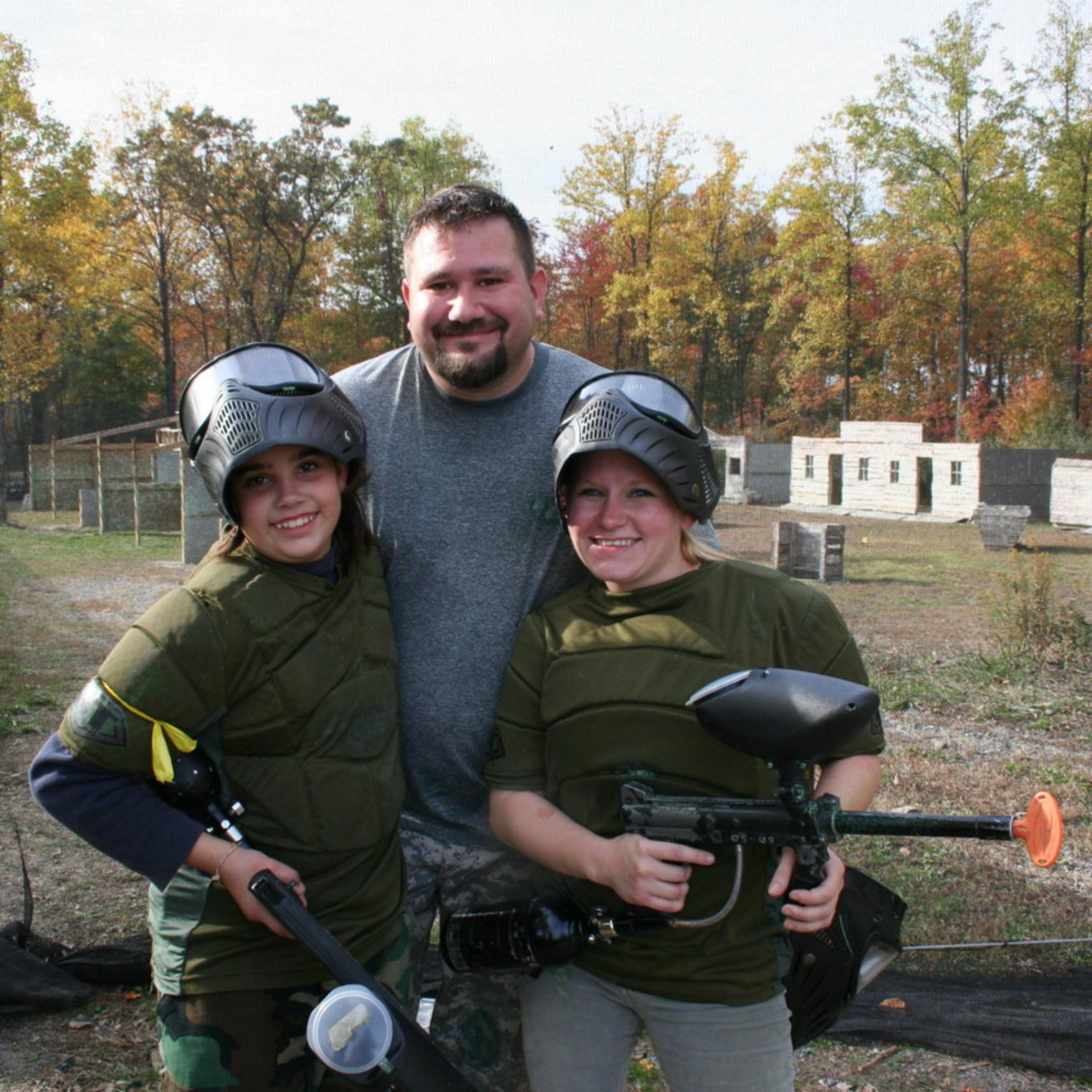 Paintball birthday parties in Central PA at Roundtop Mountain Resort