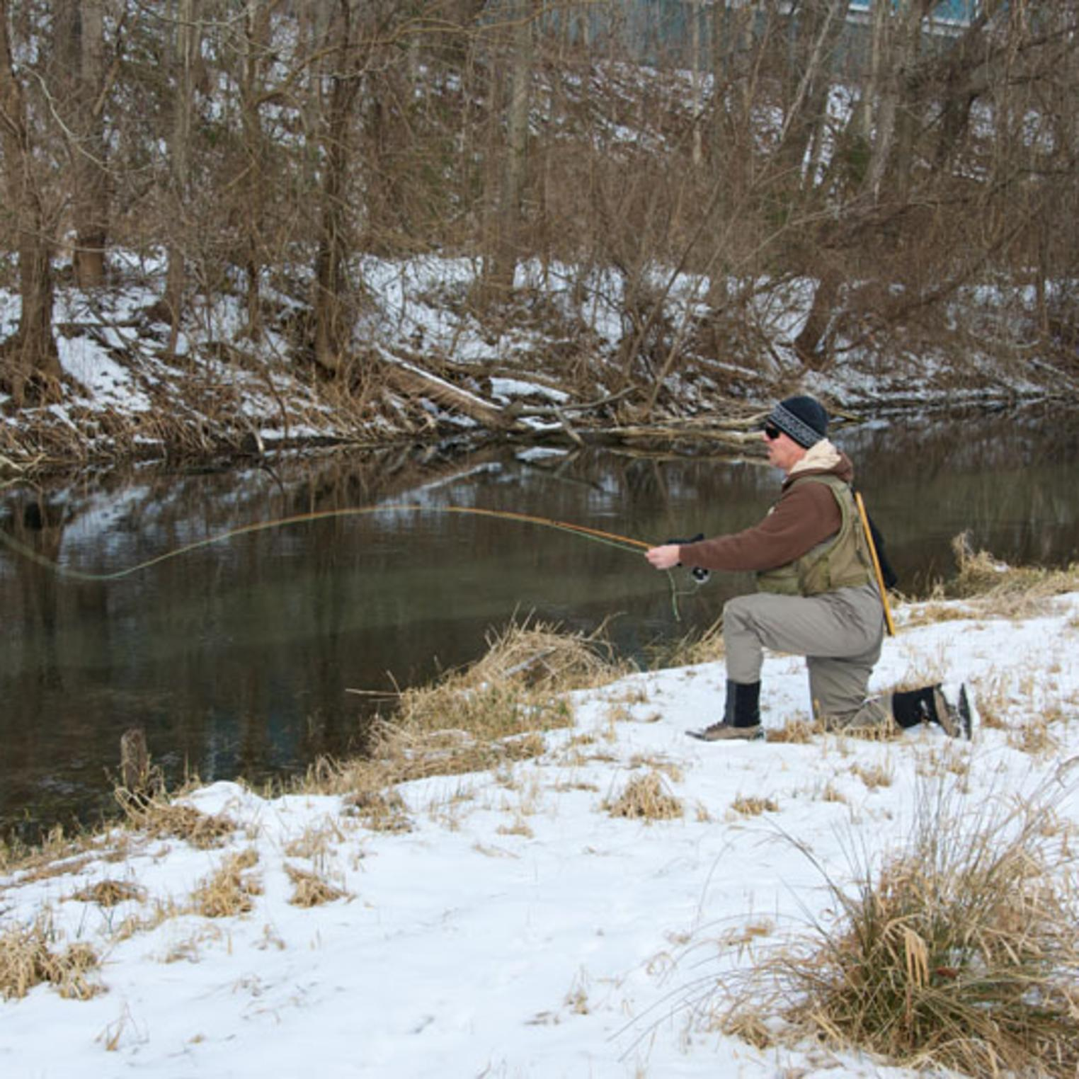 Fishing on LeTort Spring Run