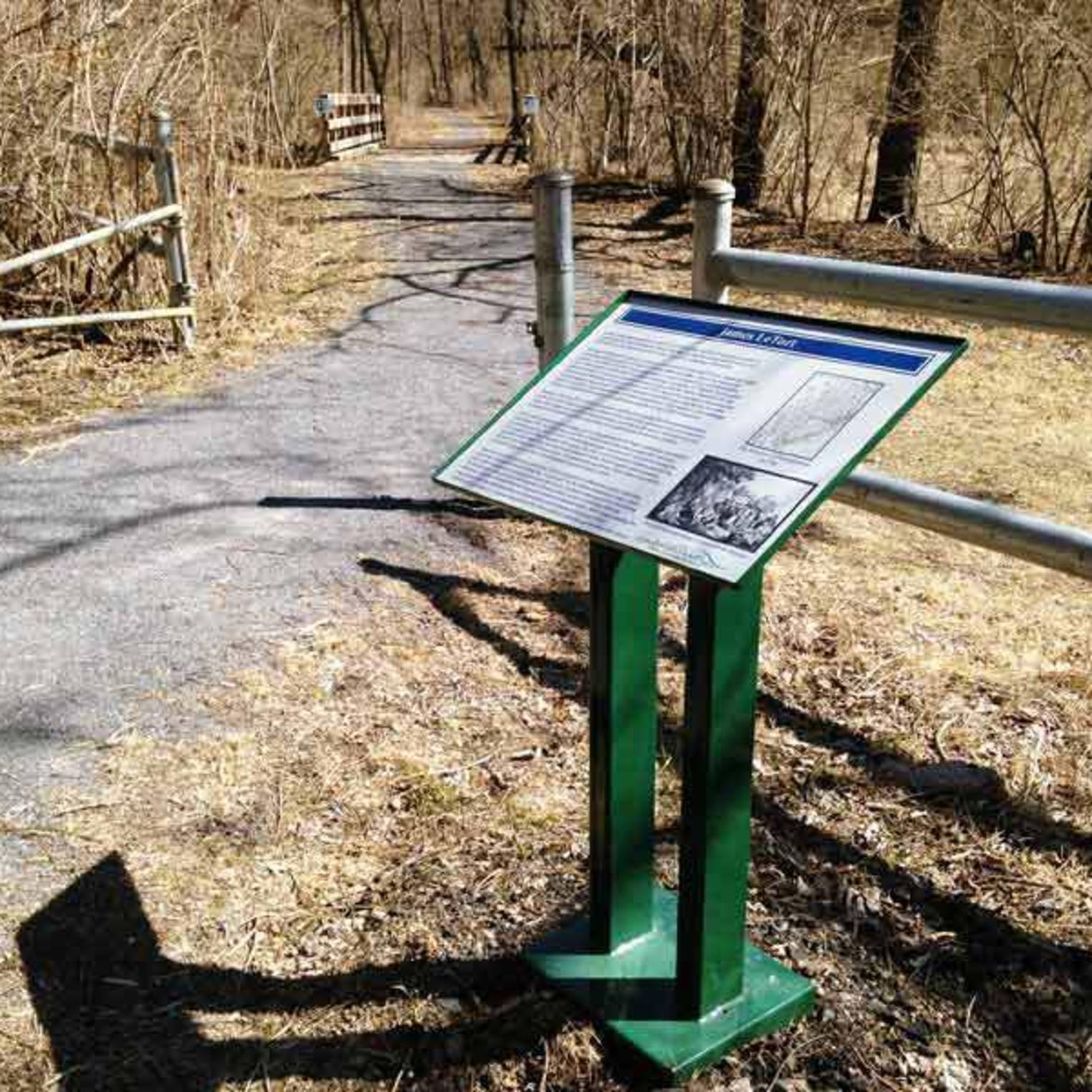Letort Spring Run Trail Sign