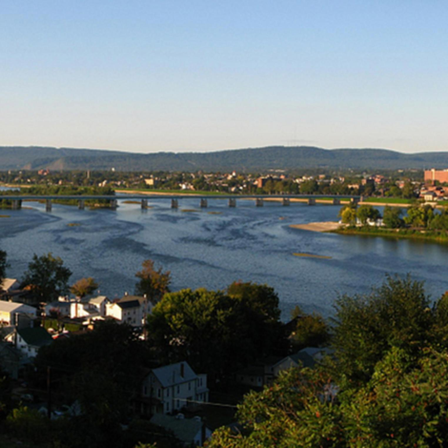 View of the Susquehanna River