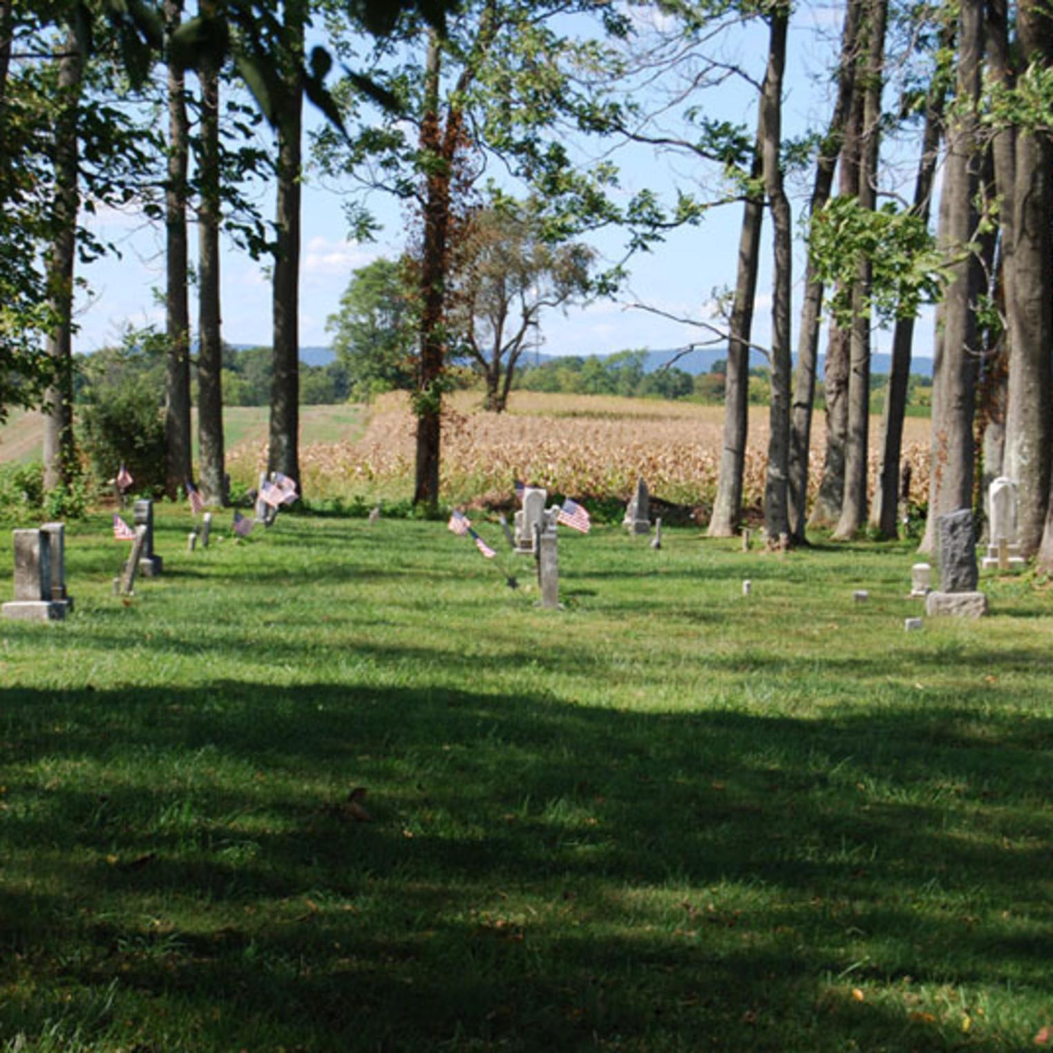 The scenic Lincoln Cemetery