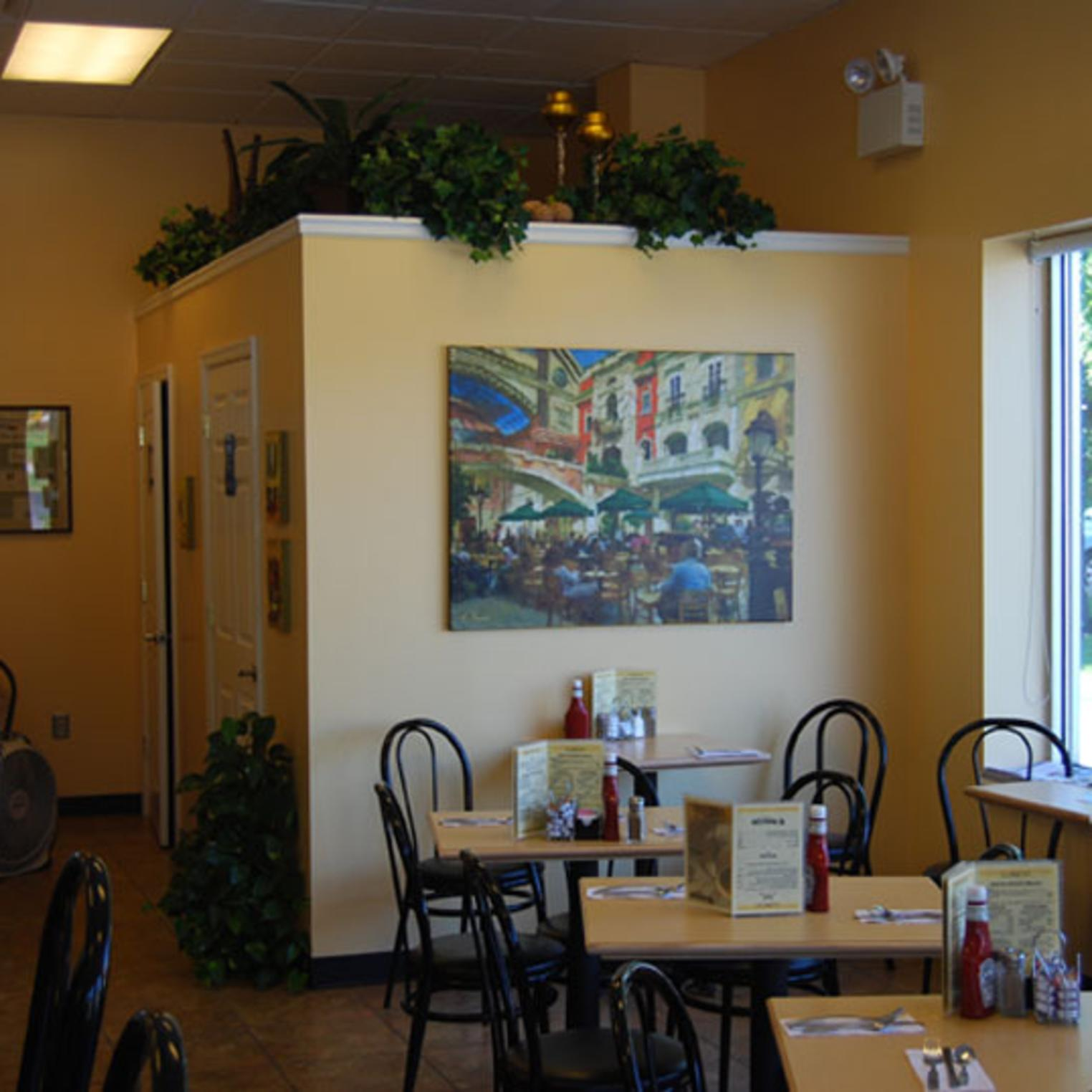 Marie's Cafe Interior