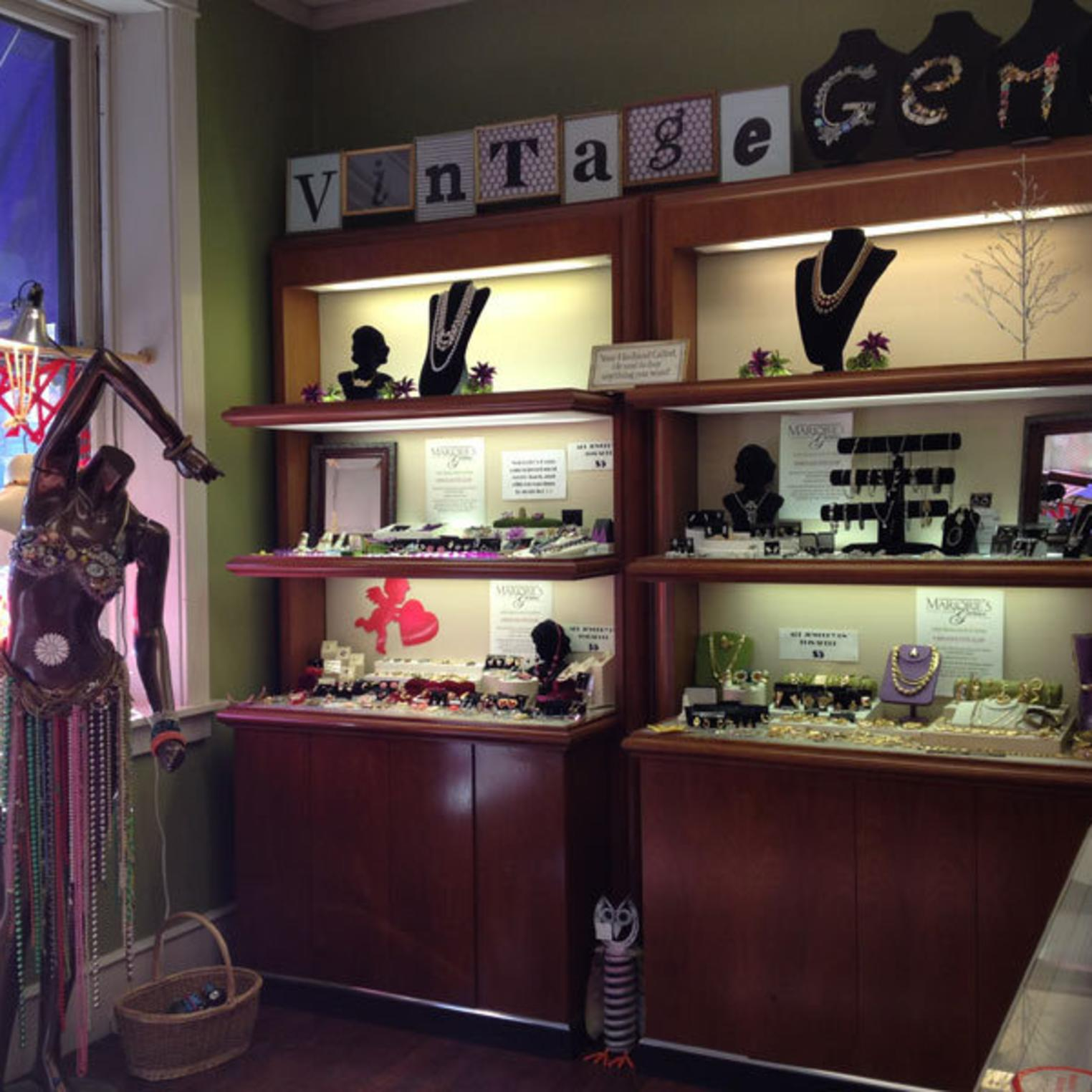 $5 Jewelry Section at Marjories Gems
