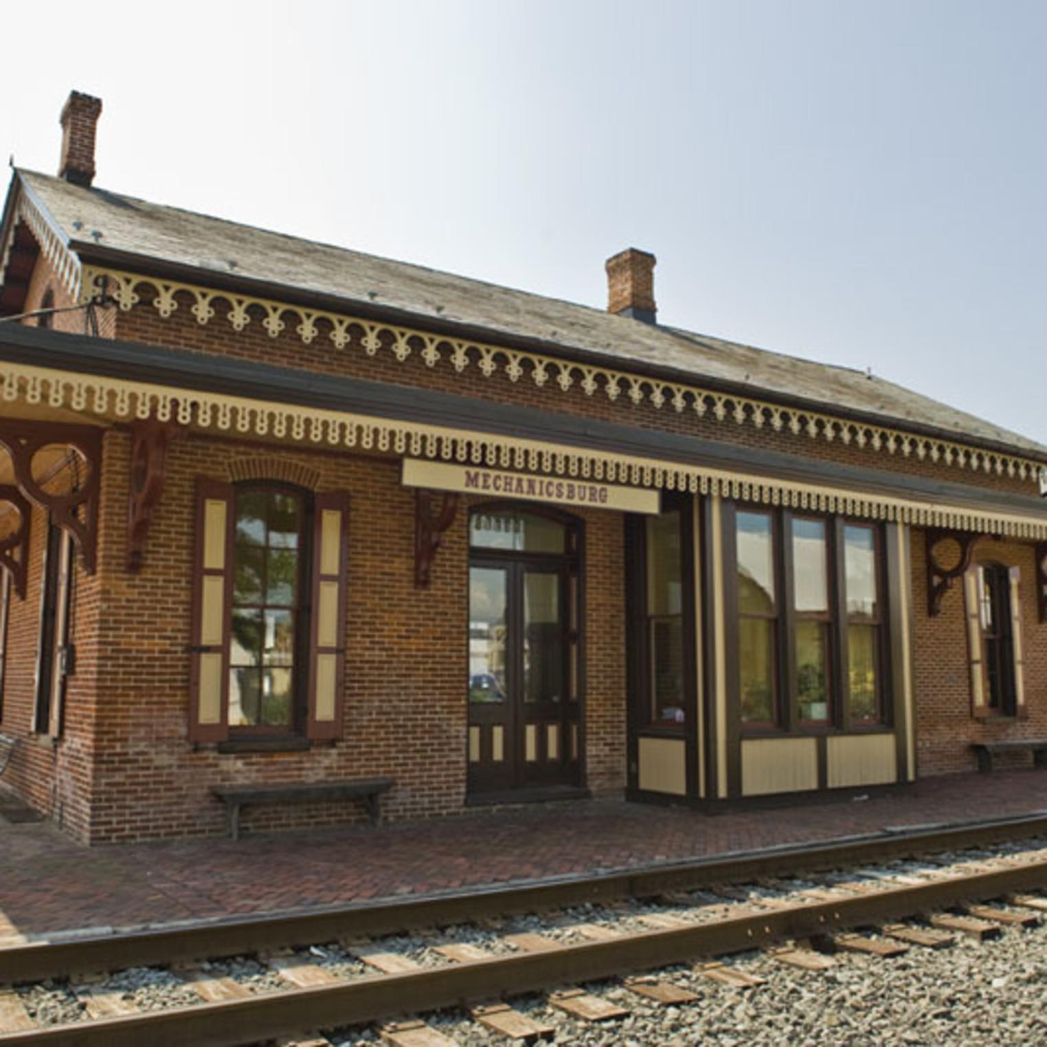 Passenger Station, Part of the Mechanicsburg Museum Association