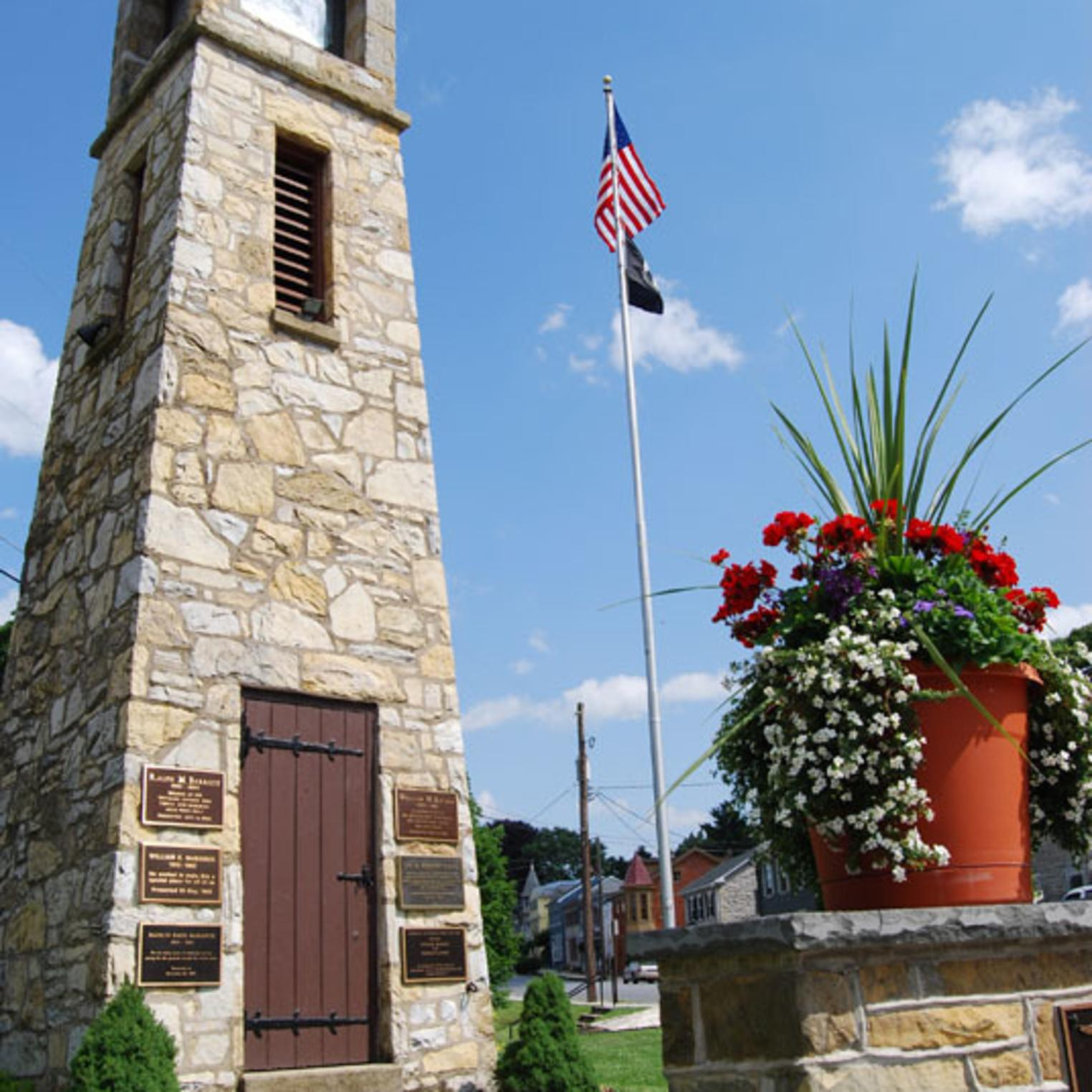 Veteran's Memorial Clock Tower