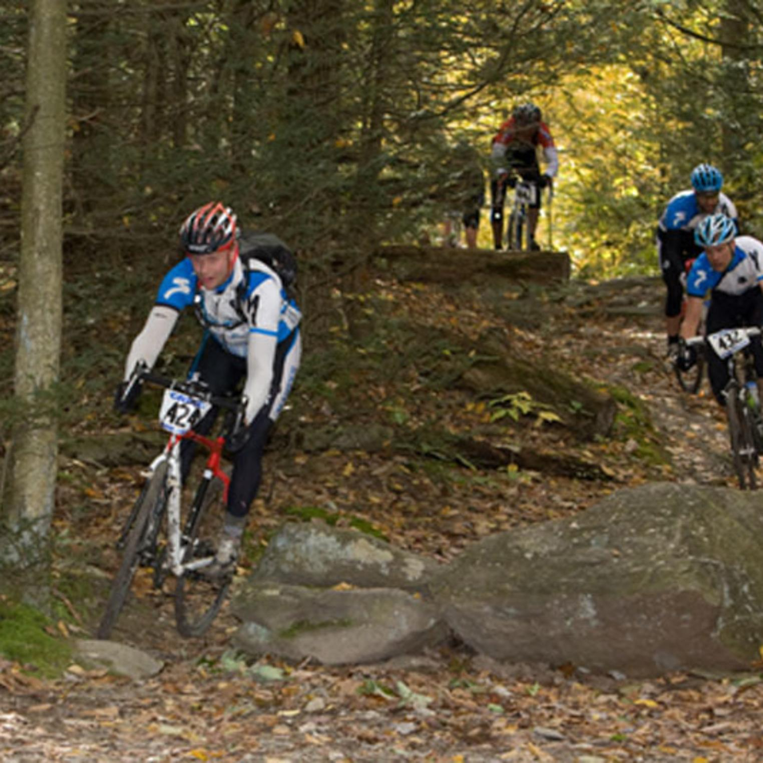 Mountain Biking in Michaux State Forest