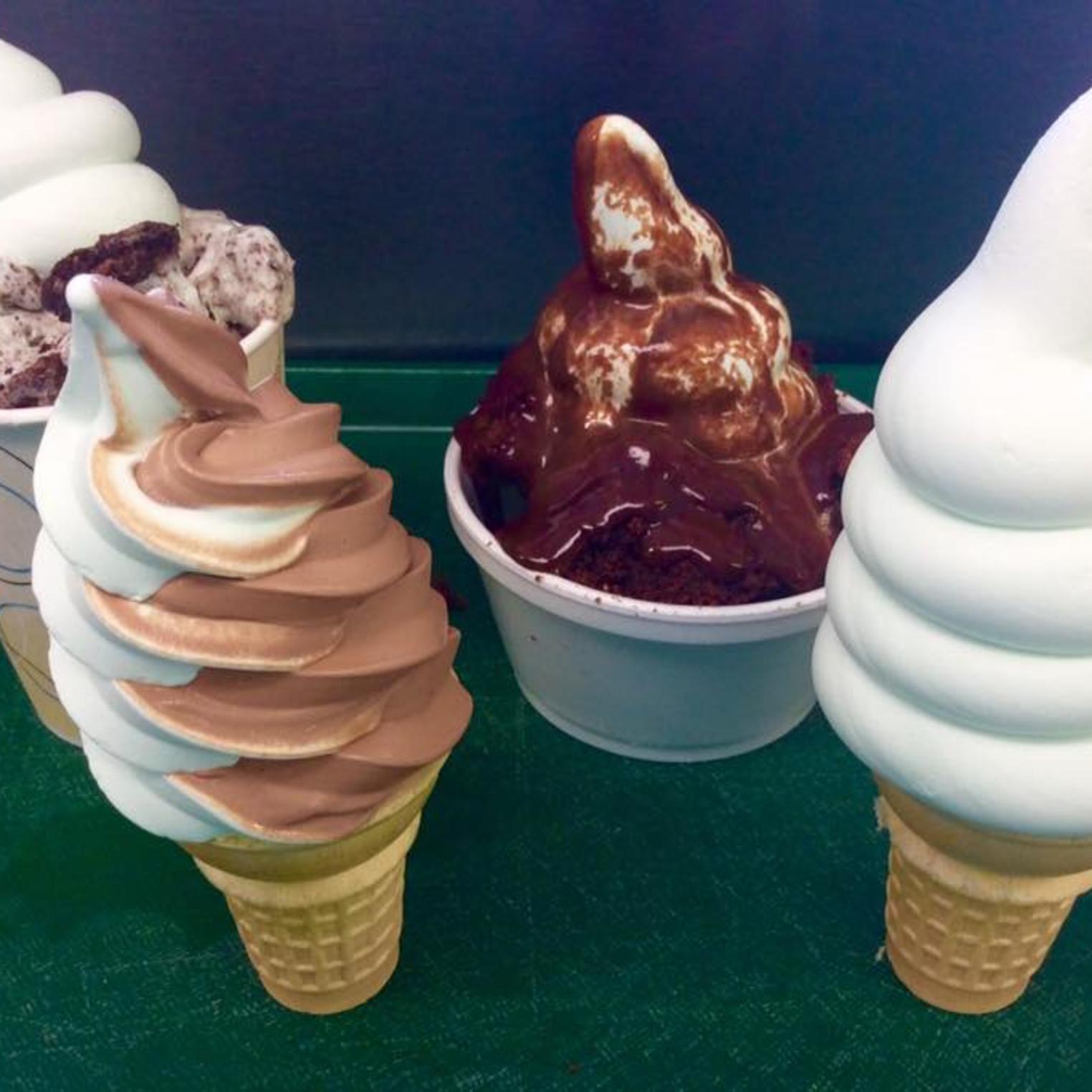 Mint Chip Soft Ice Cream