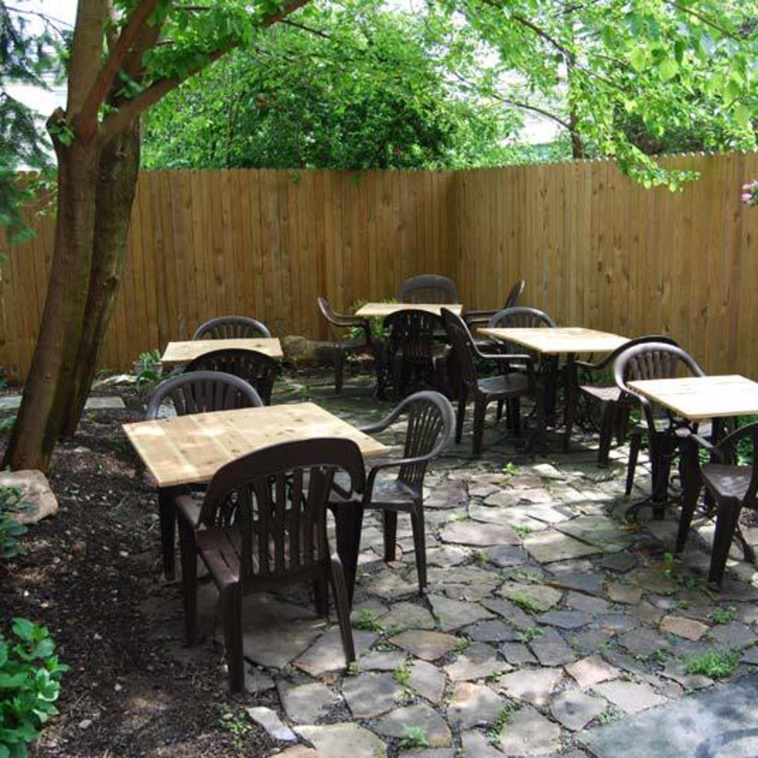 Oxford Hall Outdoor Seating