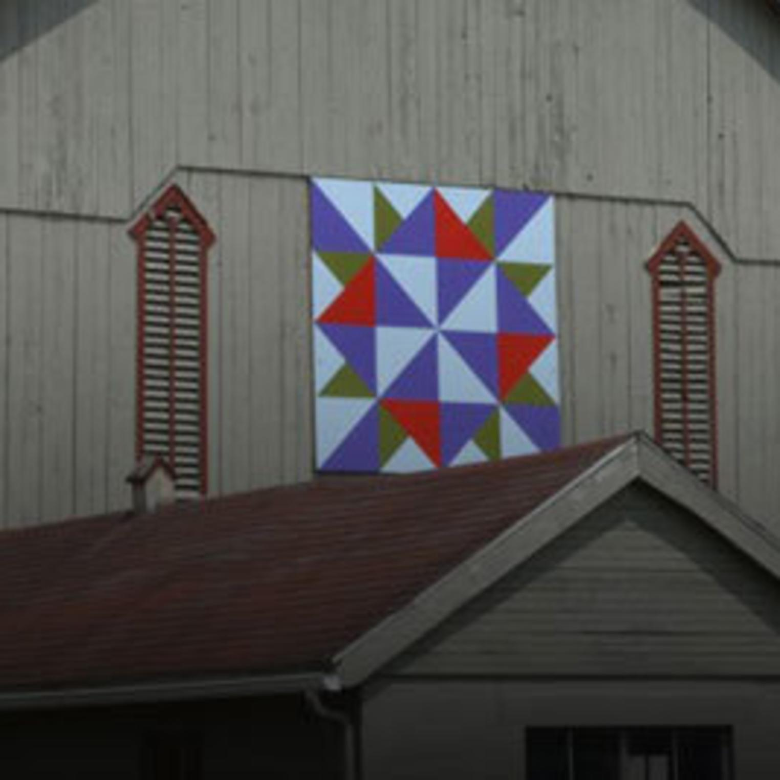 PCCA Gallery Quilt Barn Trail
