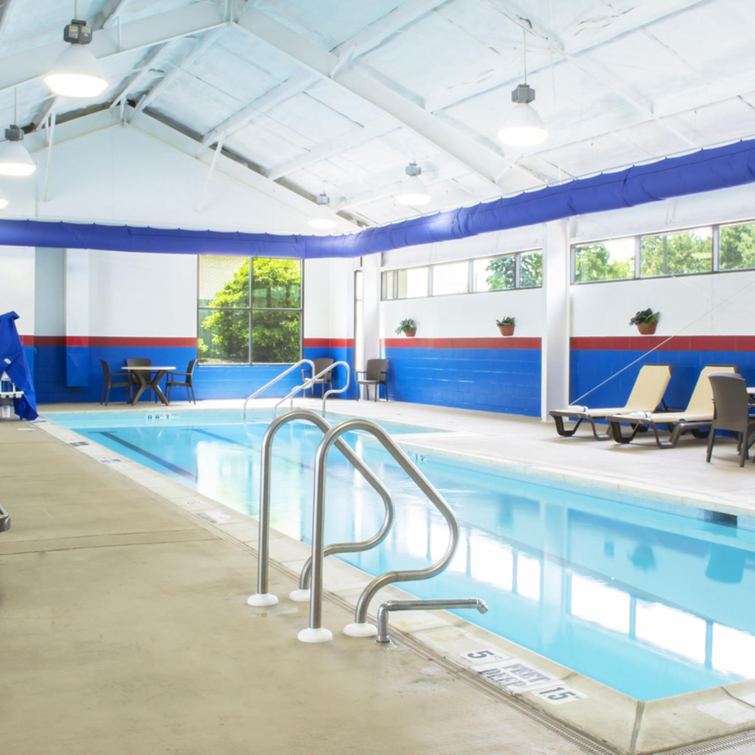 Newly Rennovated Indoor Pool