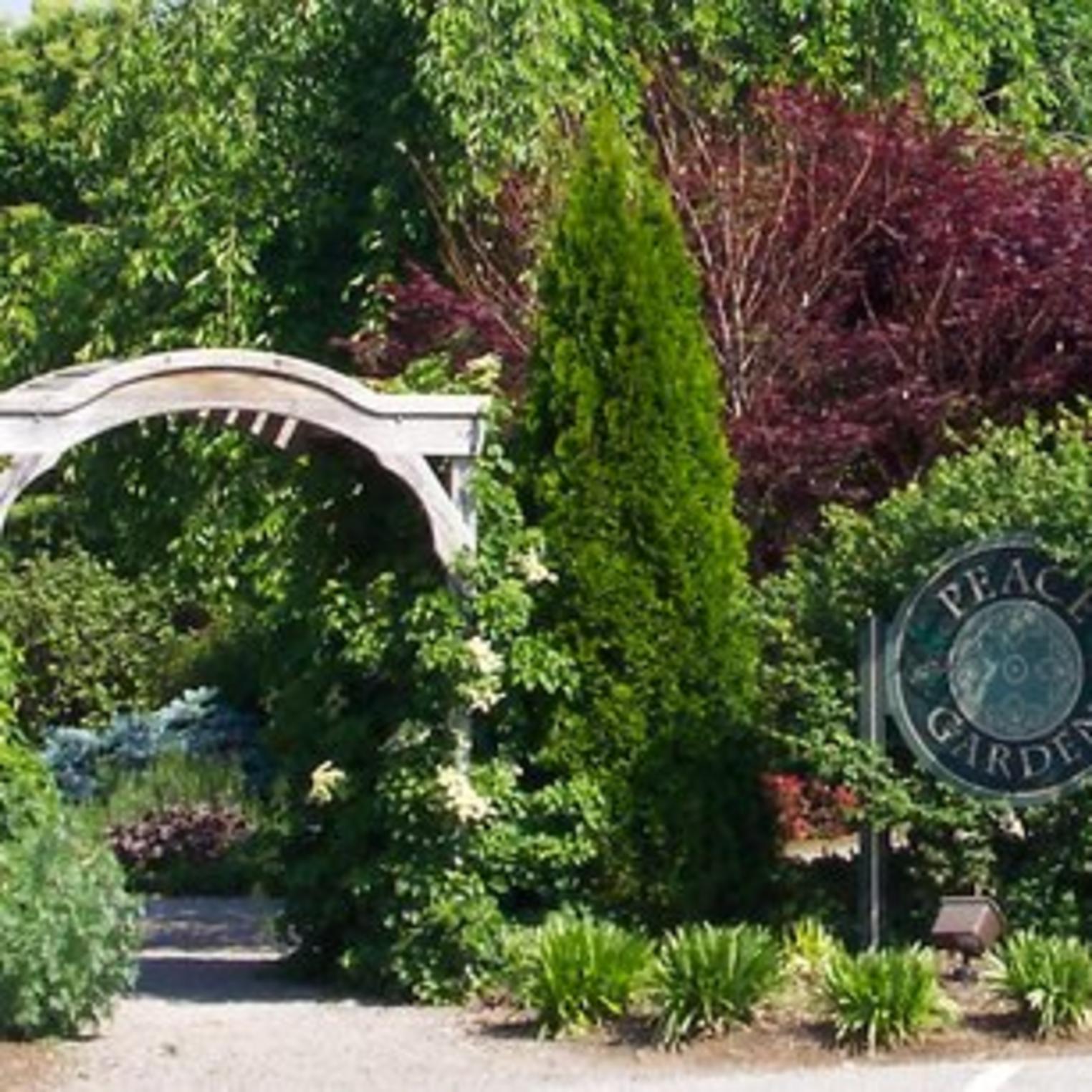 Peace Garden at Memorial Park