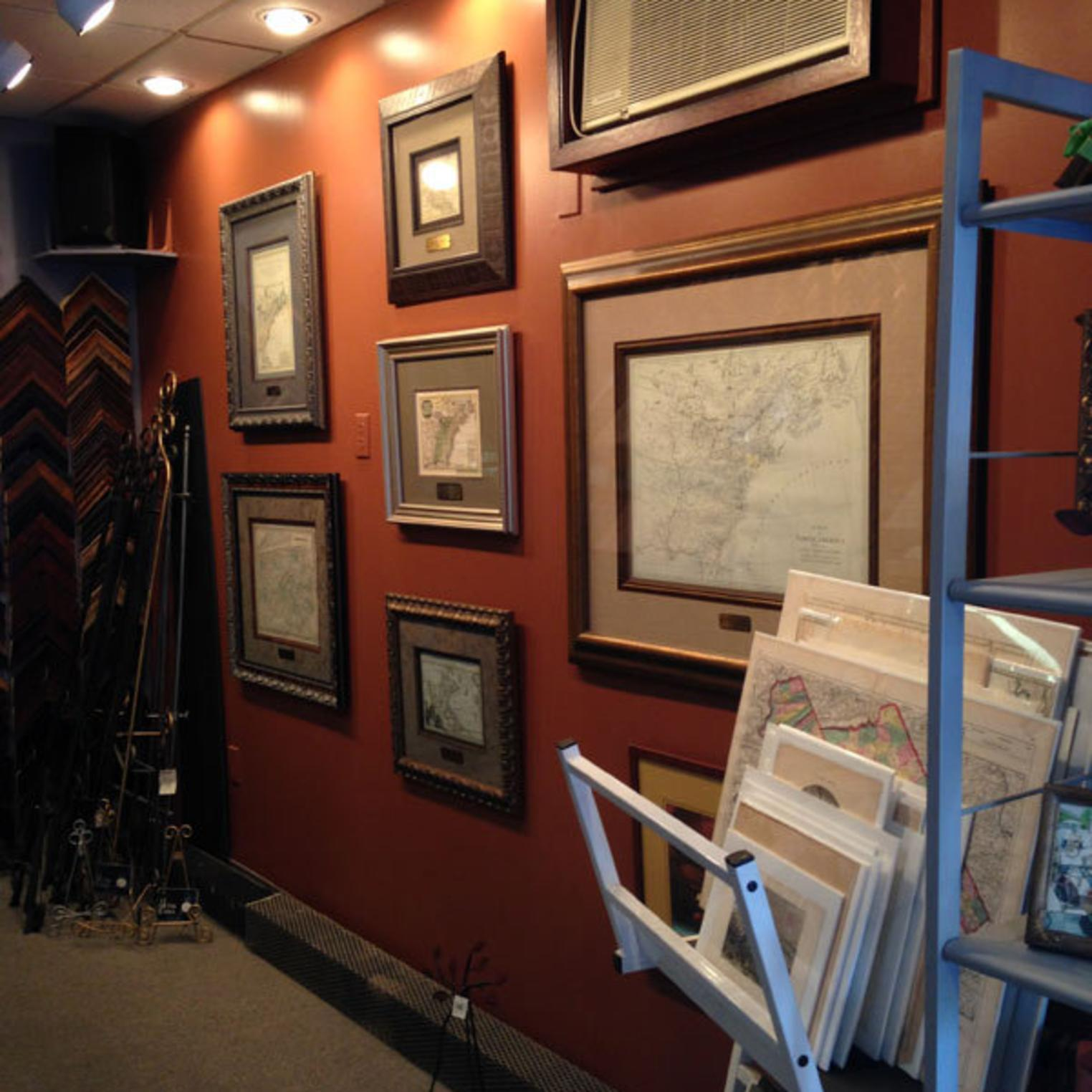 Rare Maps at Picture This Custom Frame Shop & Gallery