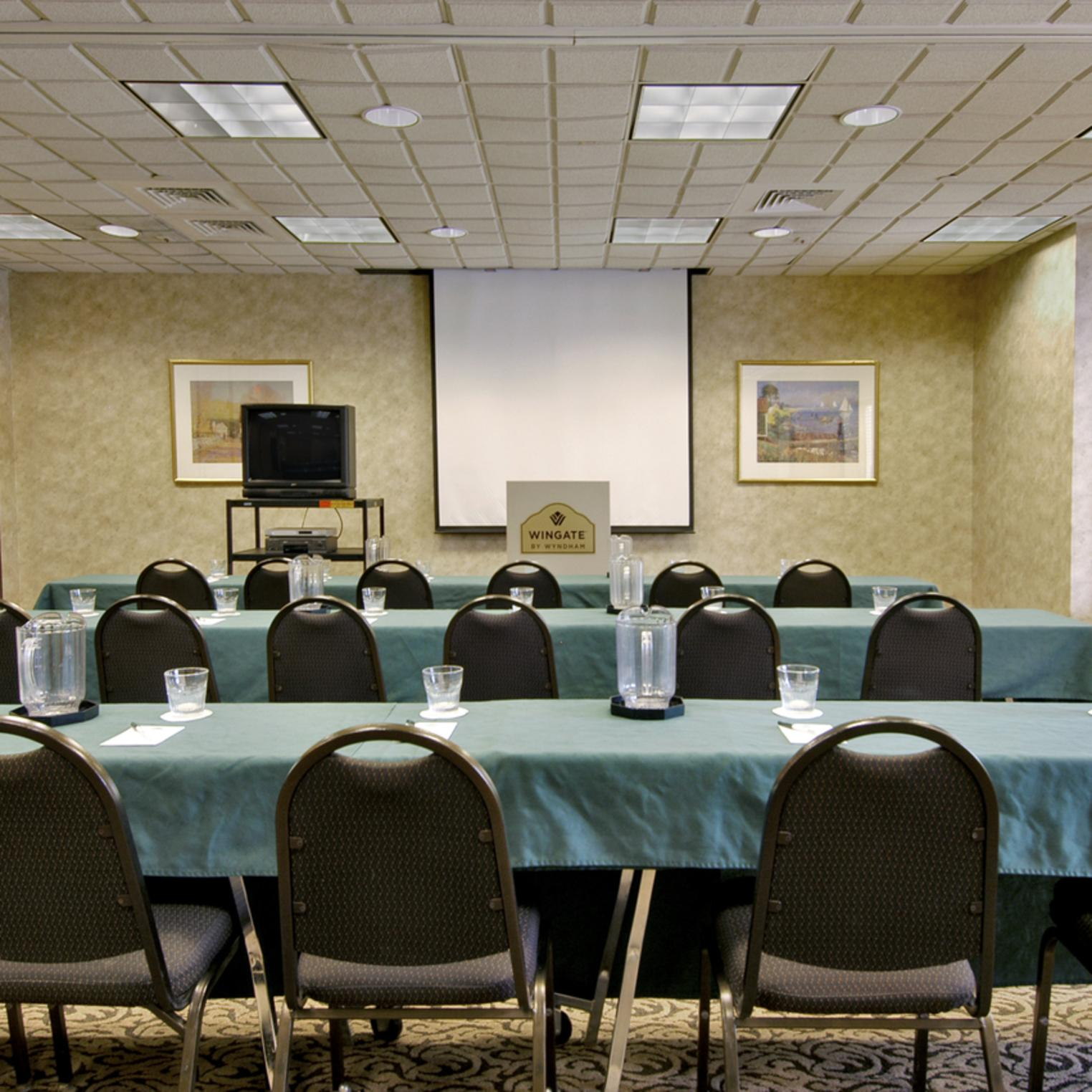 Meeting and event space provided