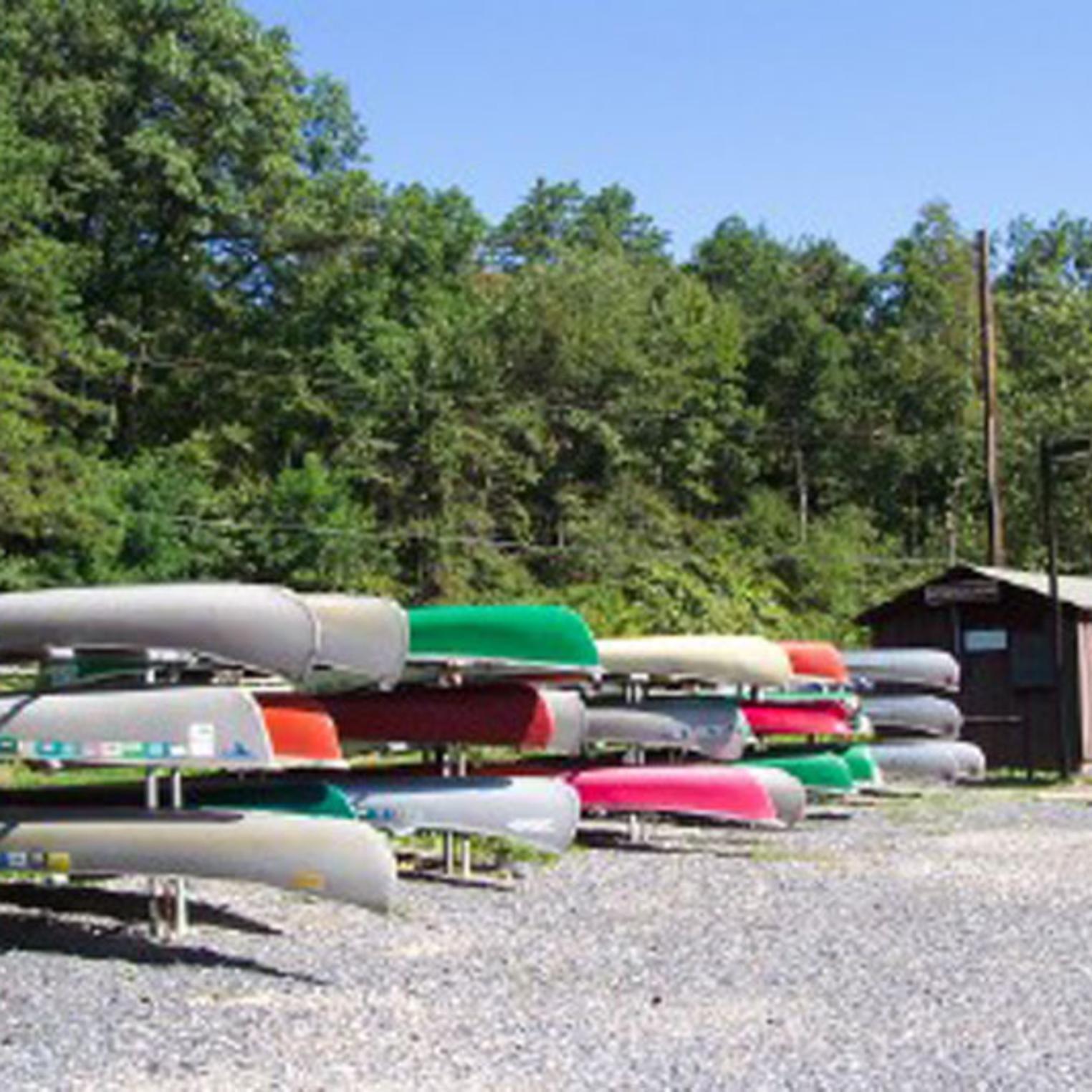 Kayak Rentals at Pine Grove Furnace State Park