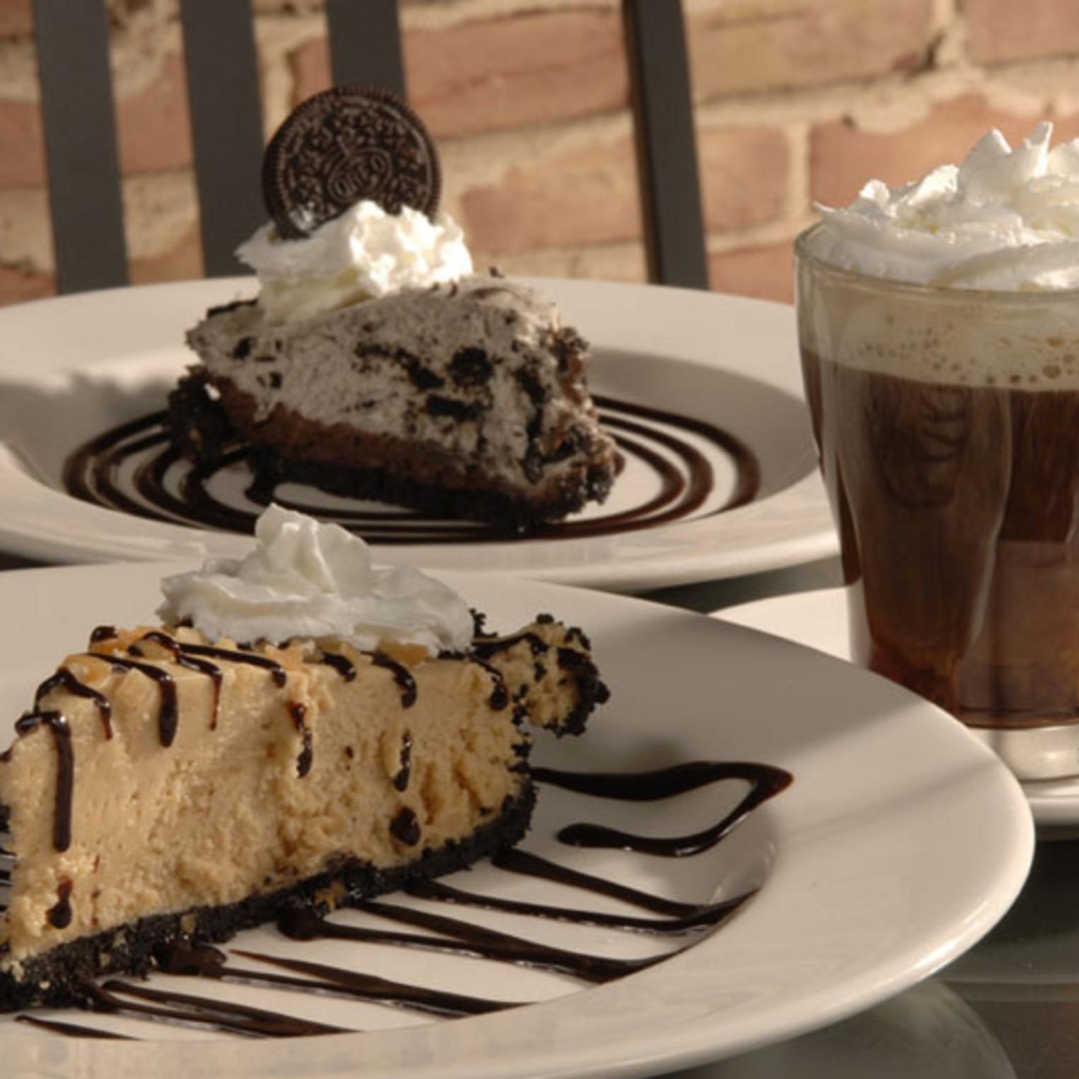 Desserts at Pizza Grille