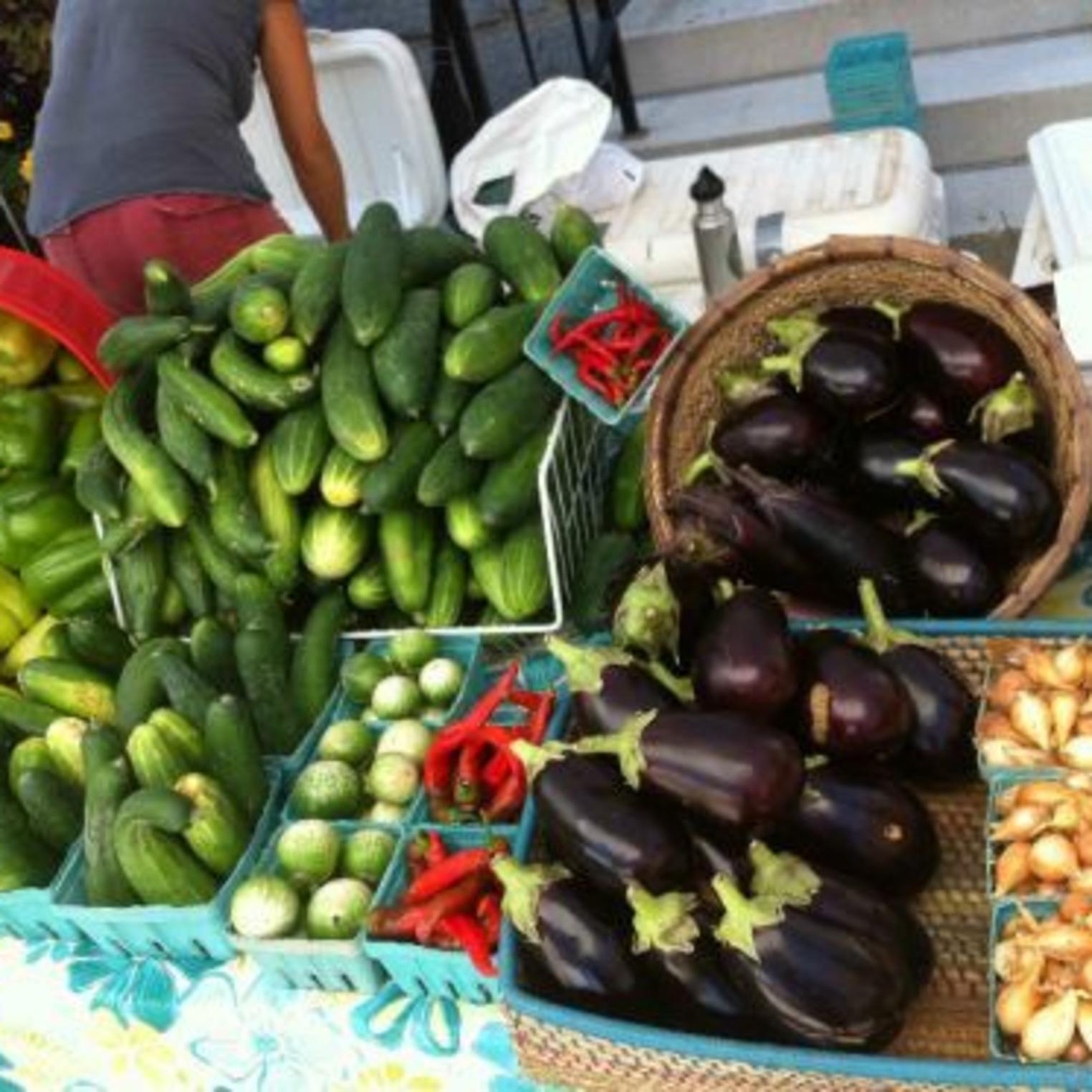 Produce at Everblossom Farm