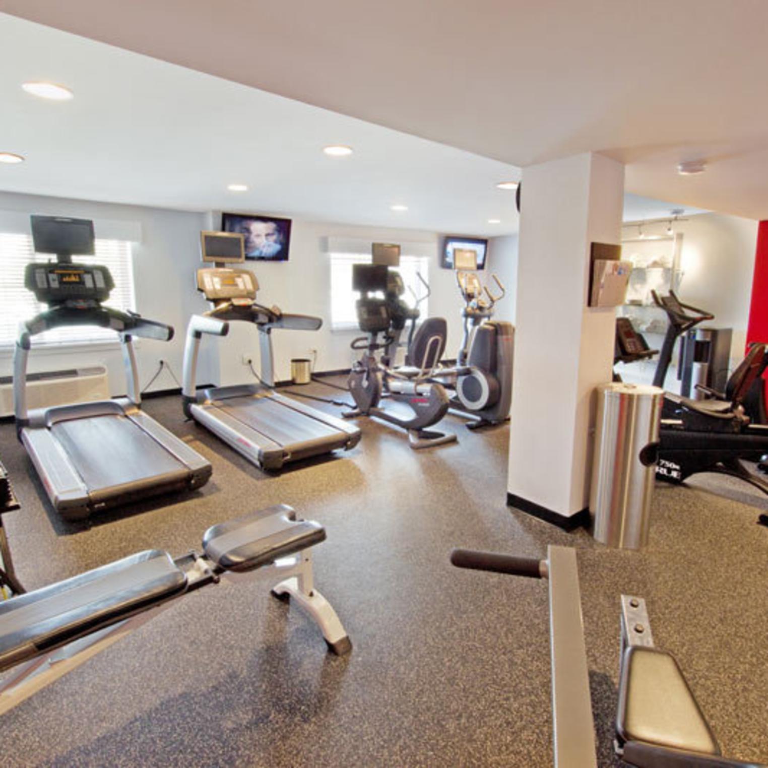 Radisson Hotel Exercise Room