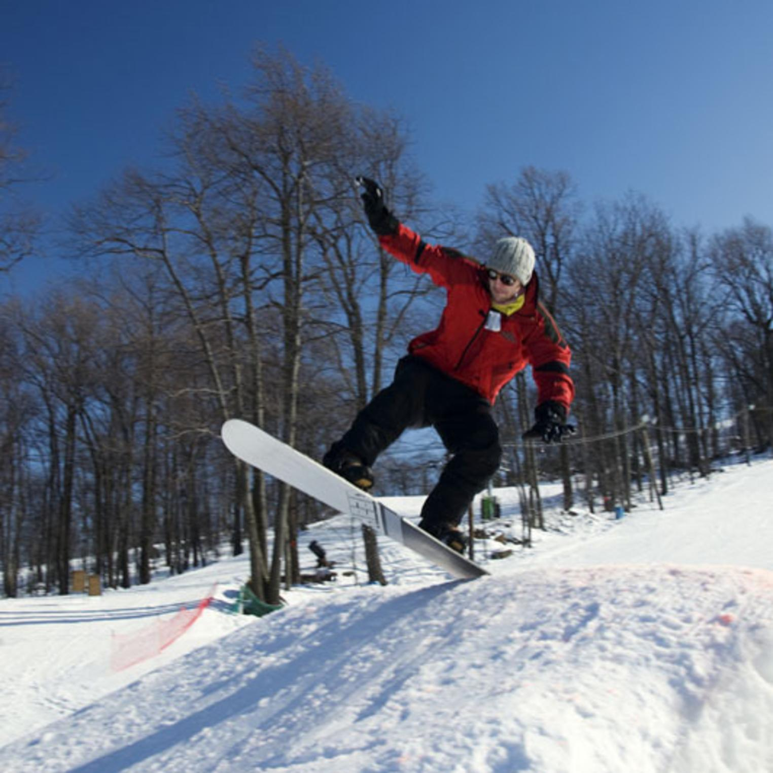 Snowboarding at Roundtop Mountain Resort - Lessons for all ages and abilities