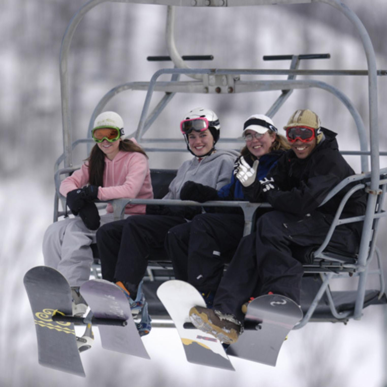 Ski Lift at Roundtop Mountain Resort