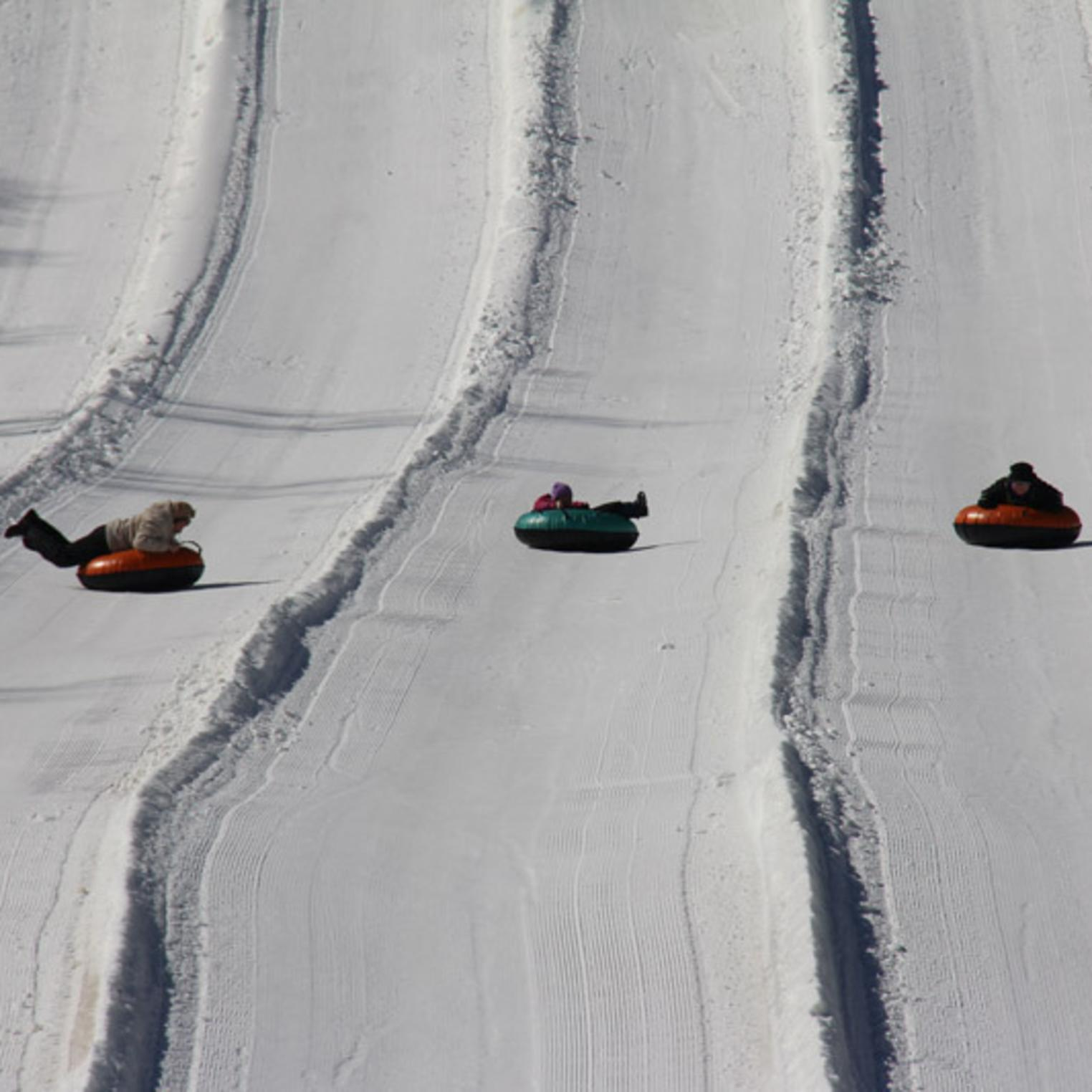 Snow Tubing at Roundtop Mountain Resort