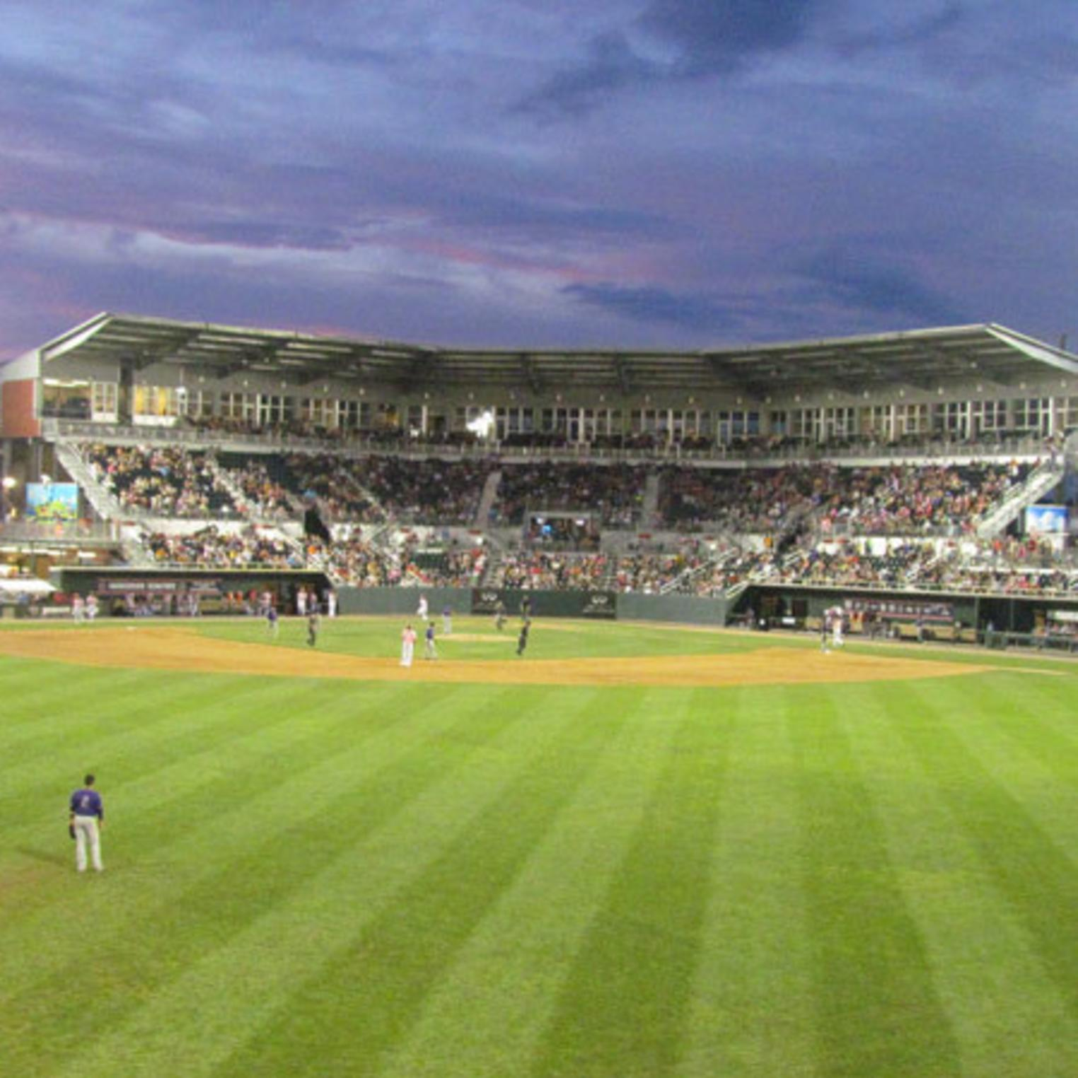 Harrisburg Senators Nighttime Game