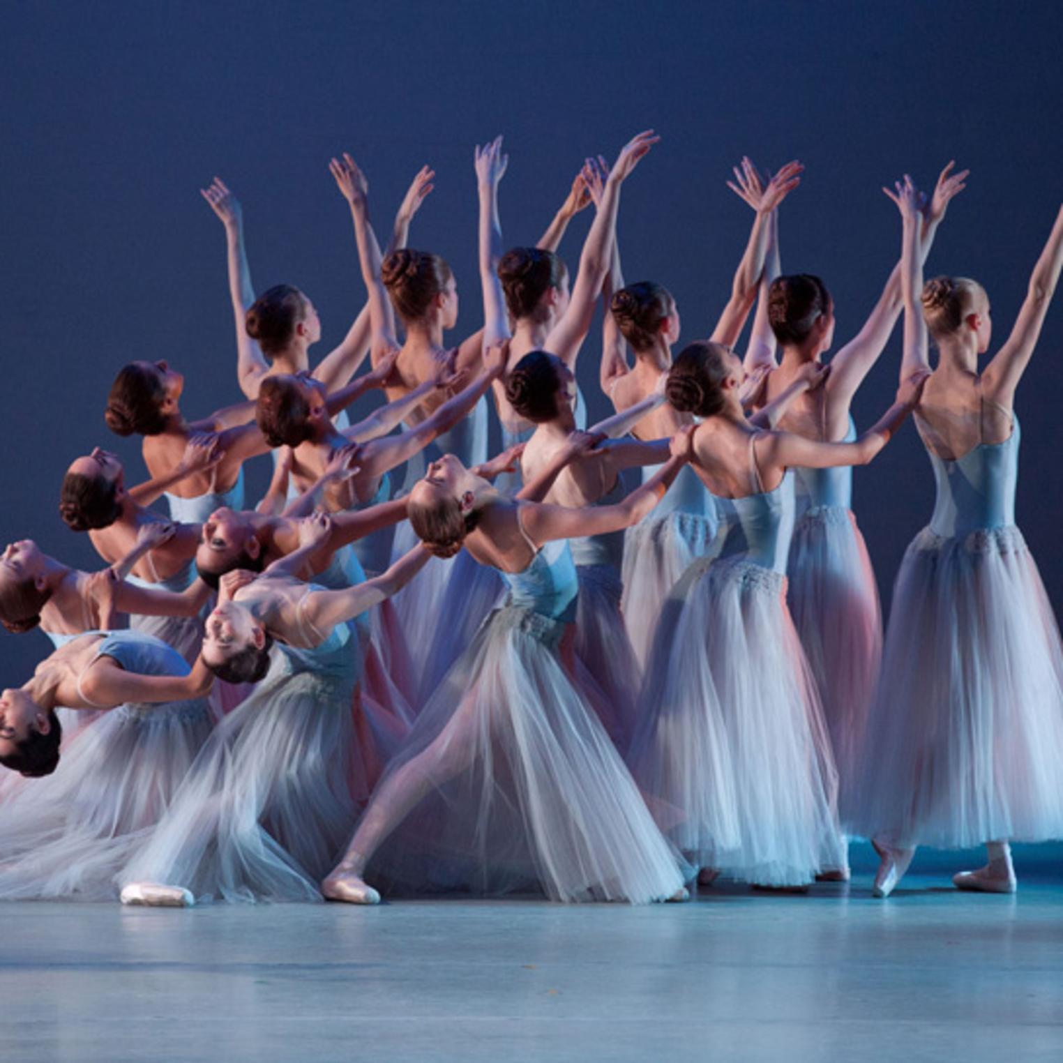 Serenade, choreography by George Balanchine (c) The George Balachine Trust