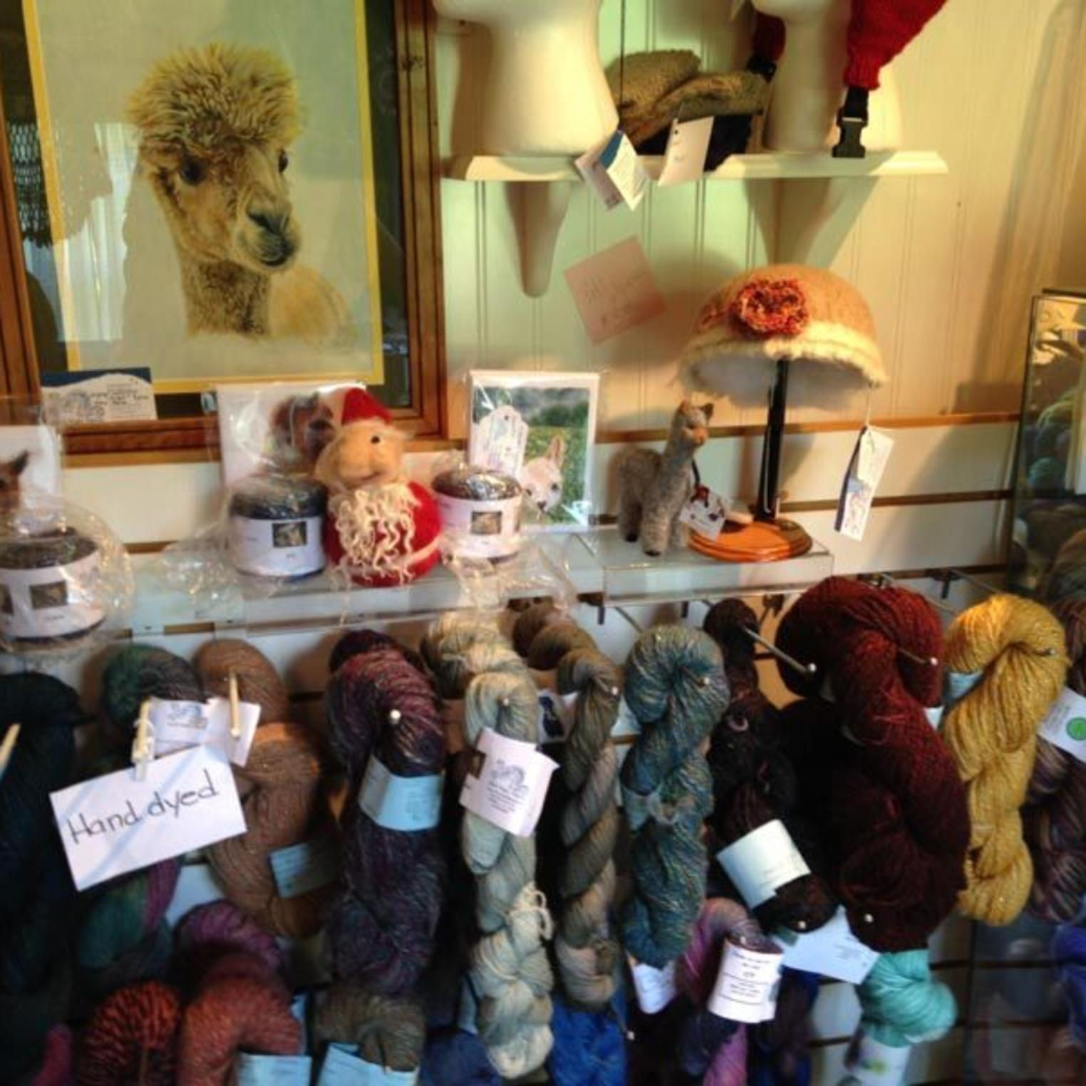 Starry Night Alpaca Farm Gift Shop