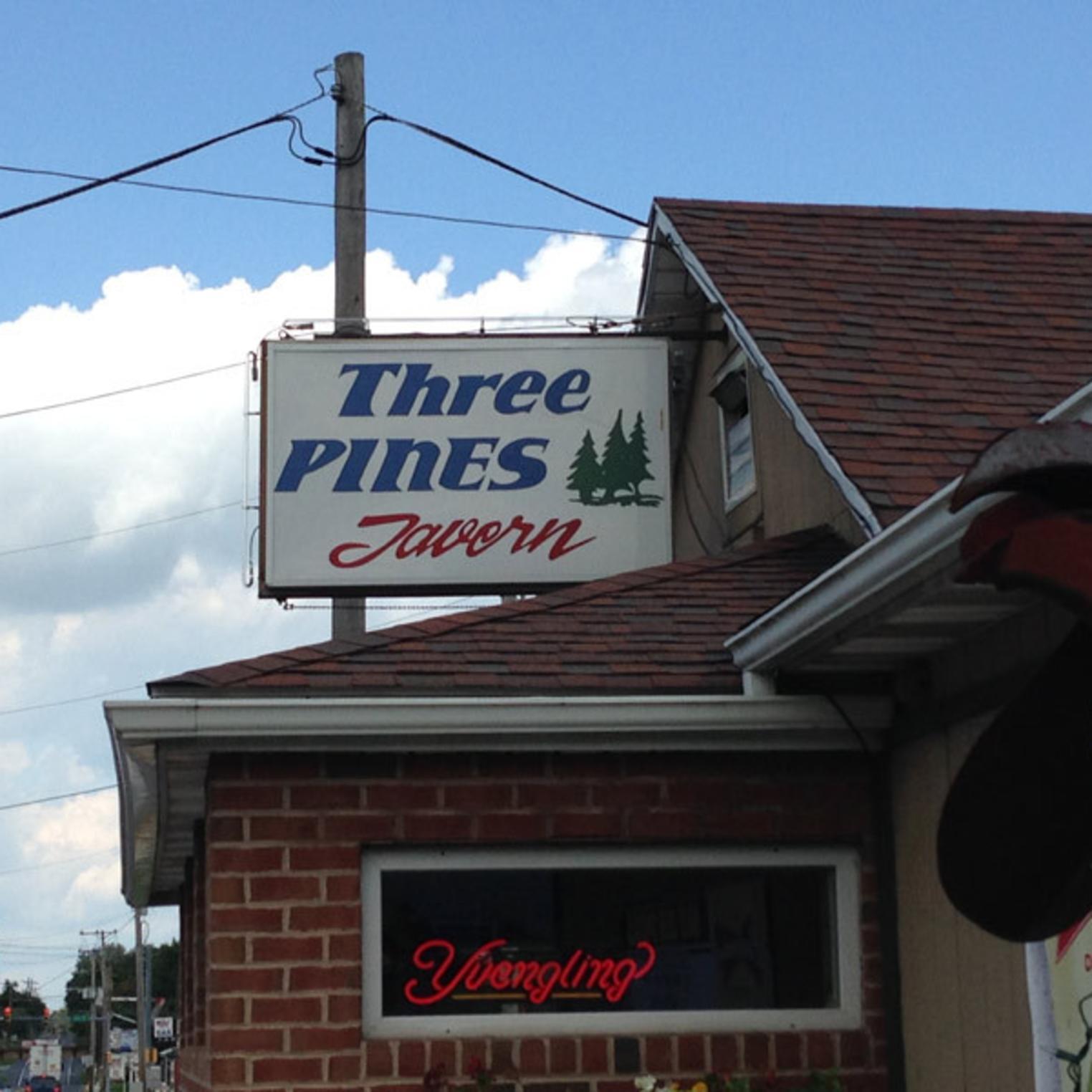 Three Pines Tavern Exterior