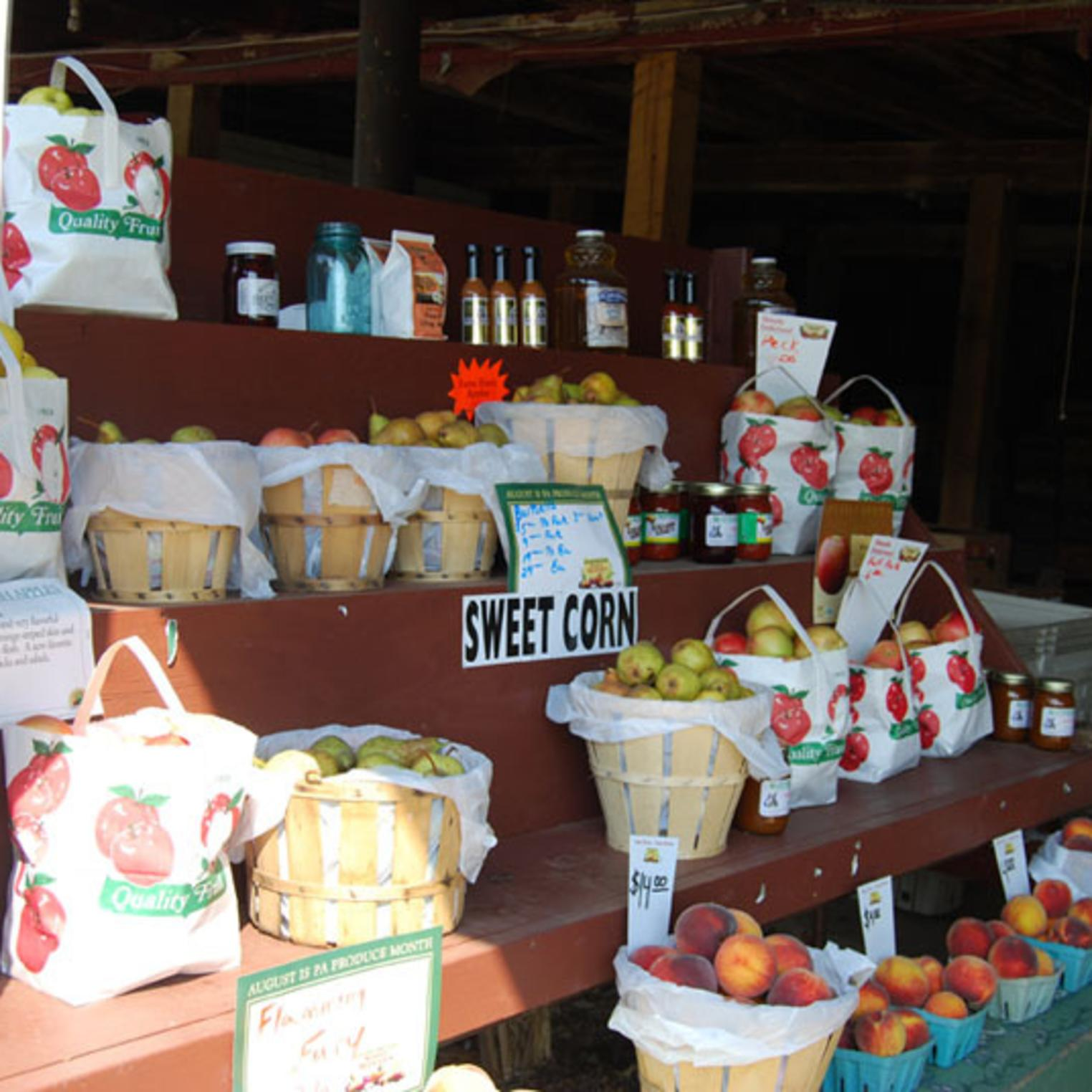 Fruit For Sale at Toigo Orchards
