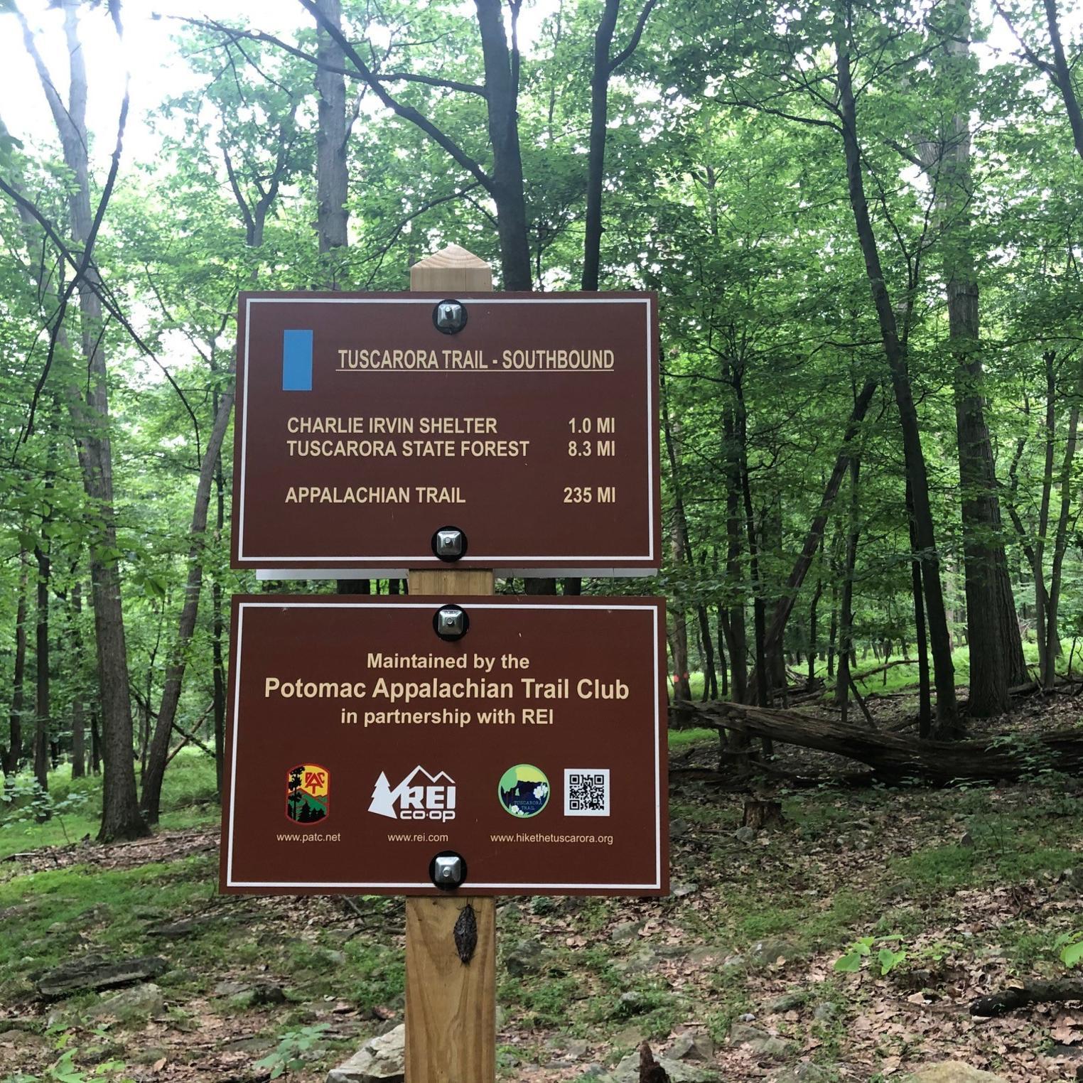 Tuscarora Trail @ Waggoner's Gap Southbound