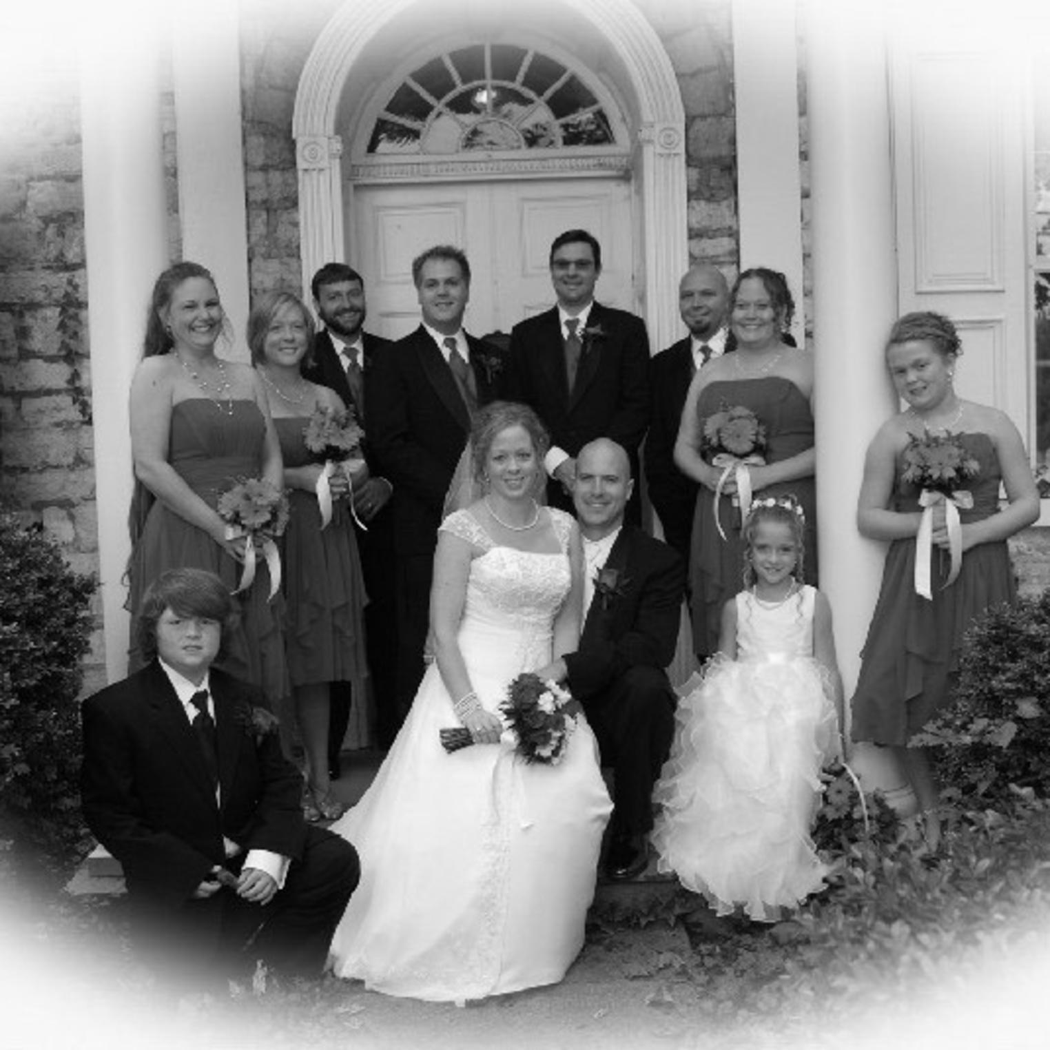 Two Mile House Wedding Party