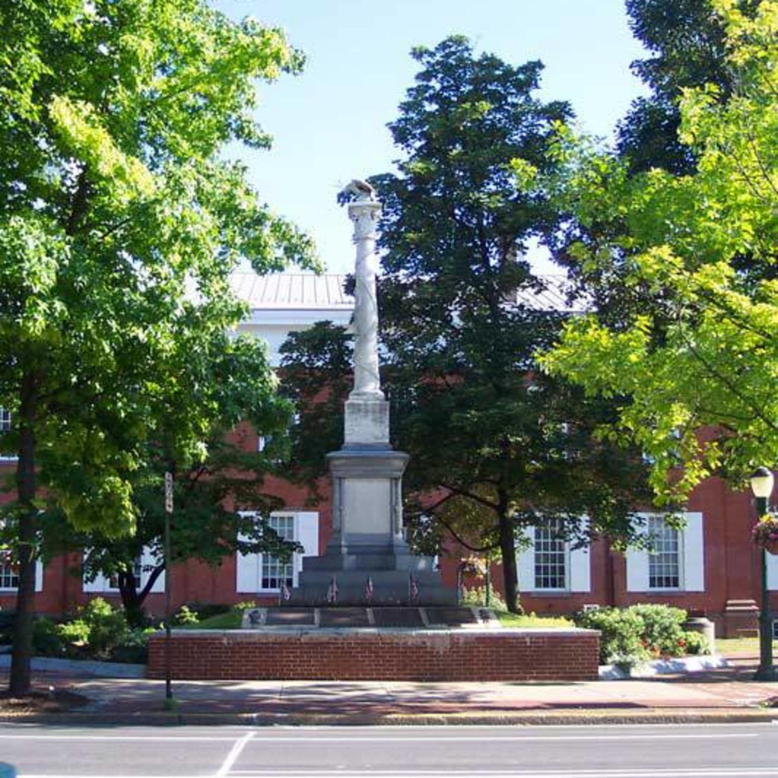 Veterans Square Civil War Monument