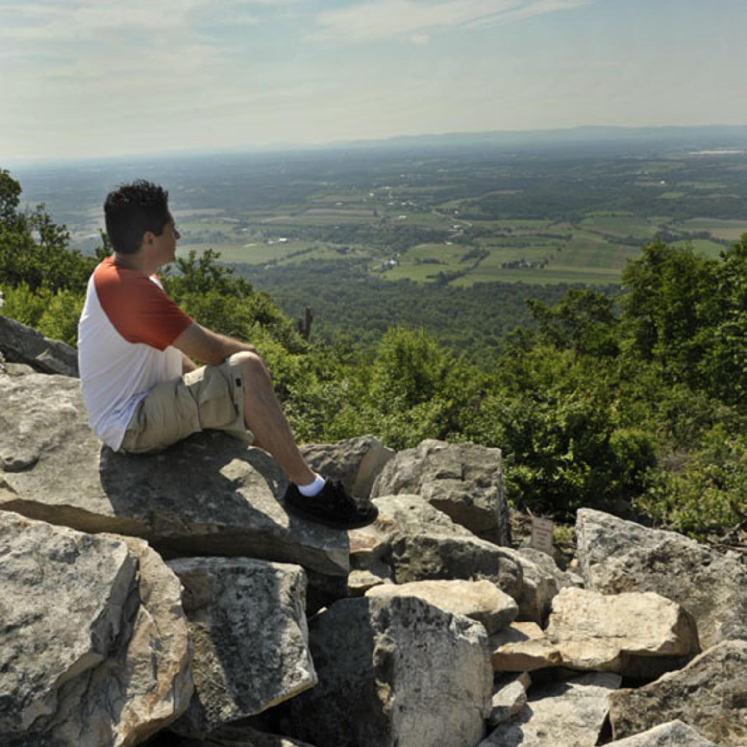 View from Waggoner's Gap Hawk Watch